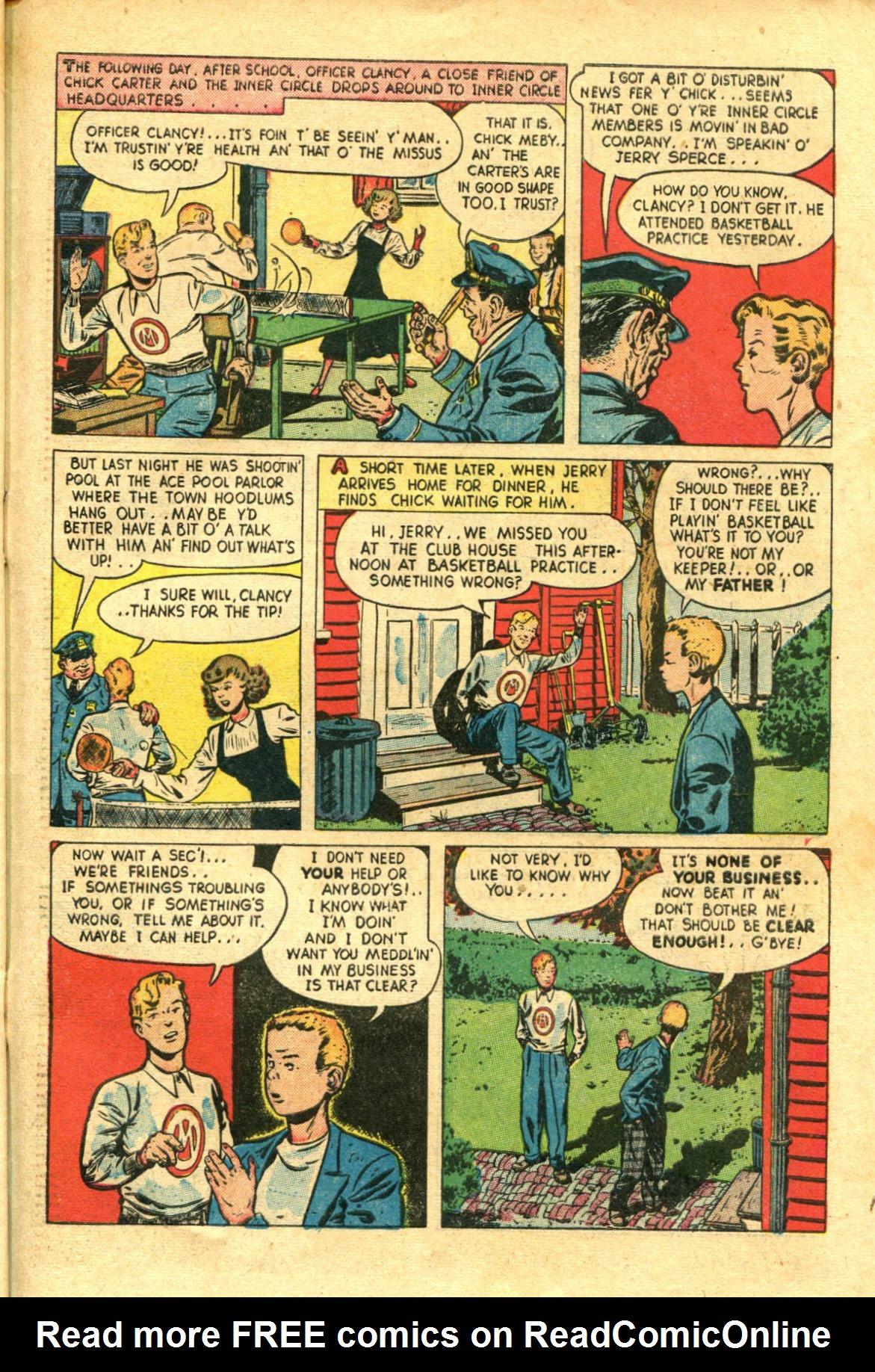 Read online Shadow Comics comic -  Issue #98 - 43