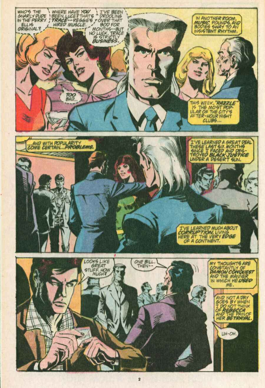 Read online Justice (1986) comic -  Issue #13 - 3