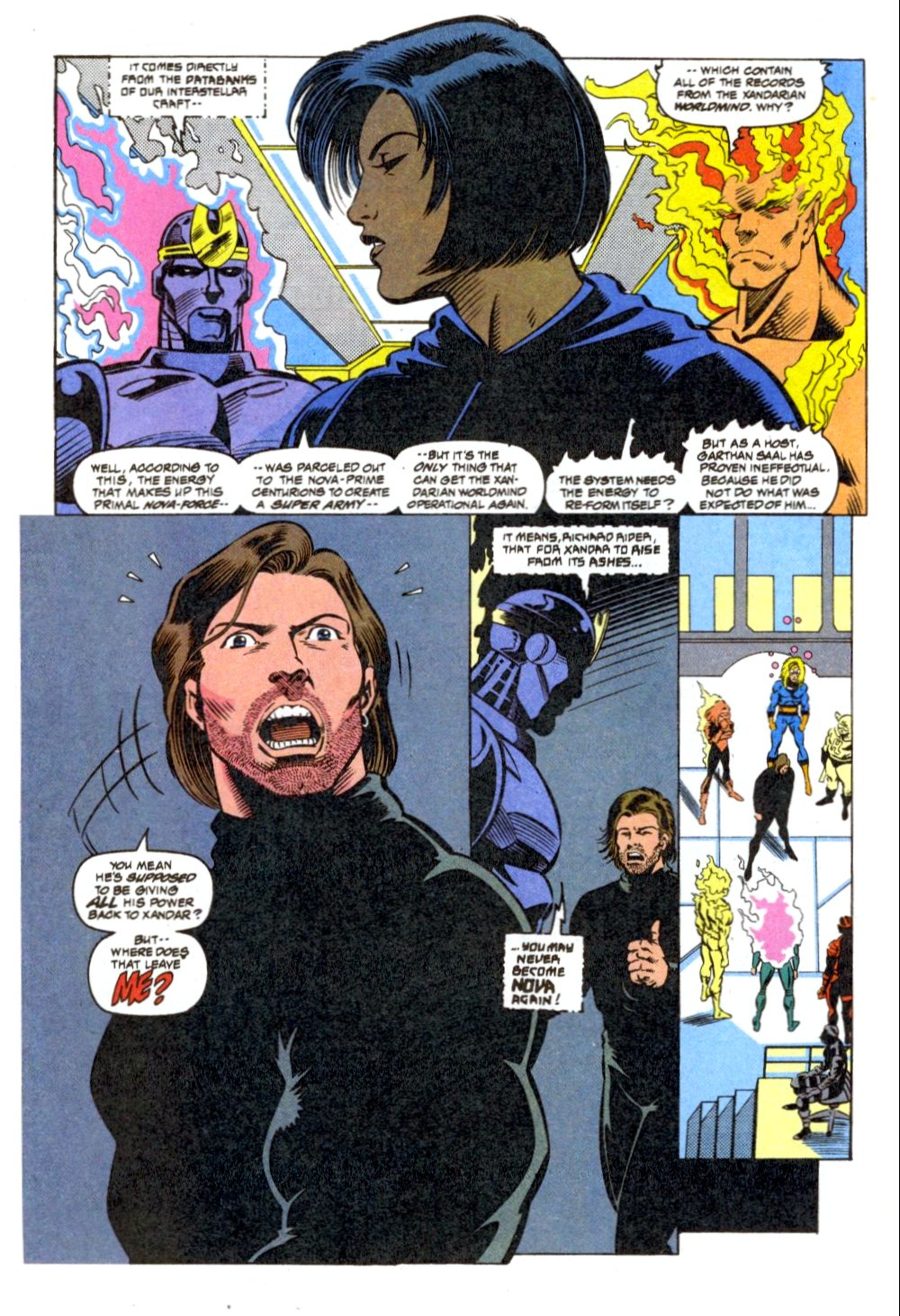 The New Warriors Issue #41 #45 - English 12