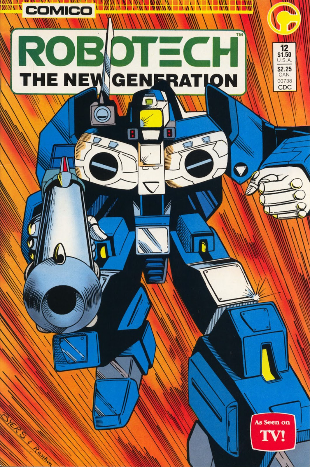 Robotech The New Generation issue 12 - Page 1