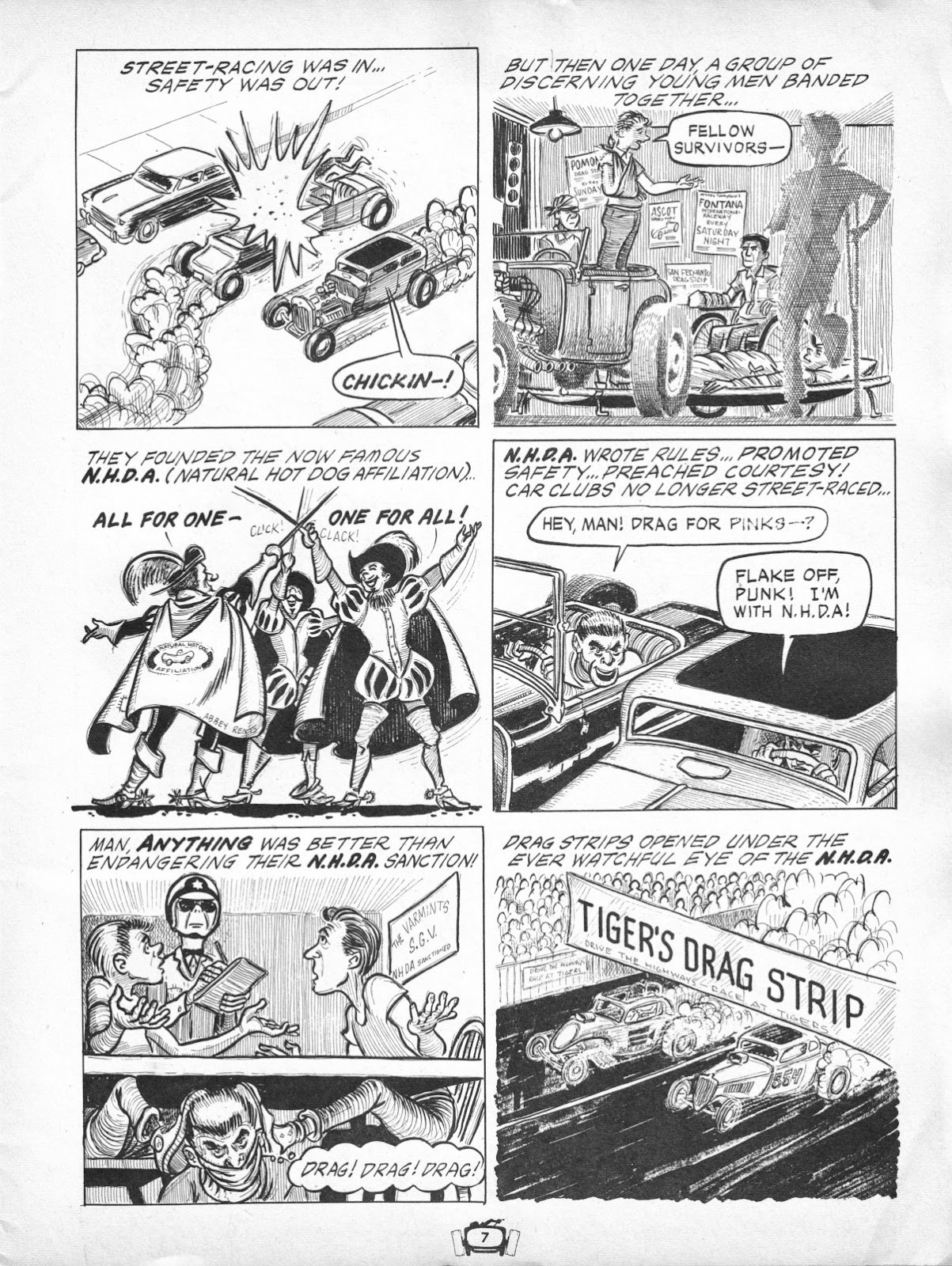 Drag Cartoons issue 7 - Page 7
