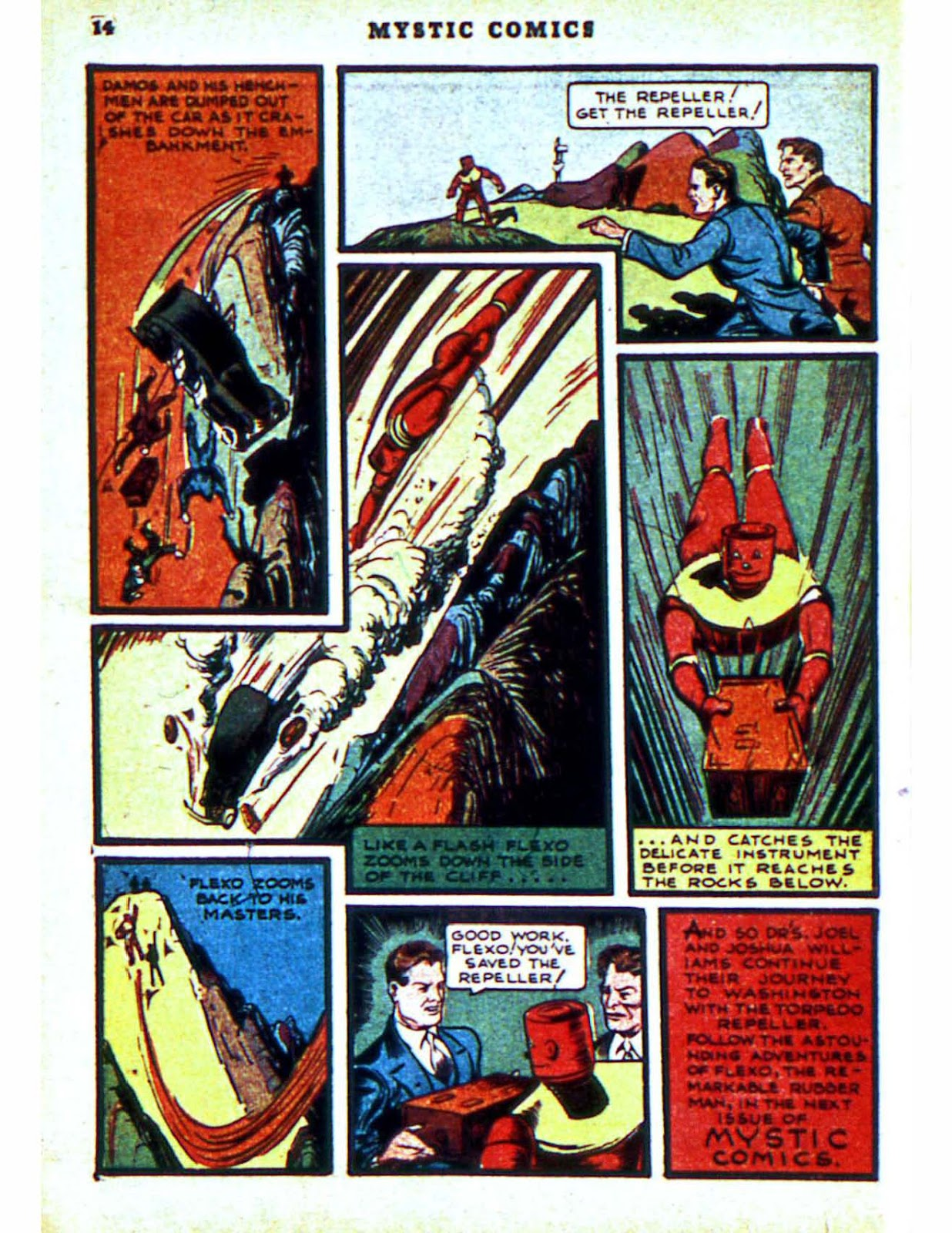 Mystic Comics (1940) issue 2 - Page 16