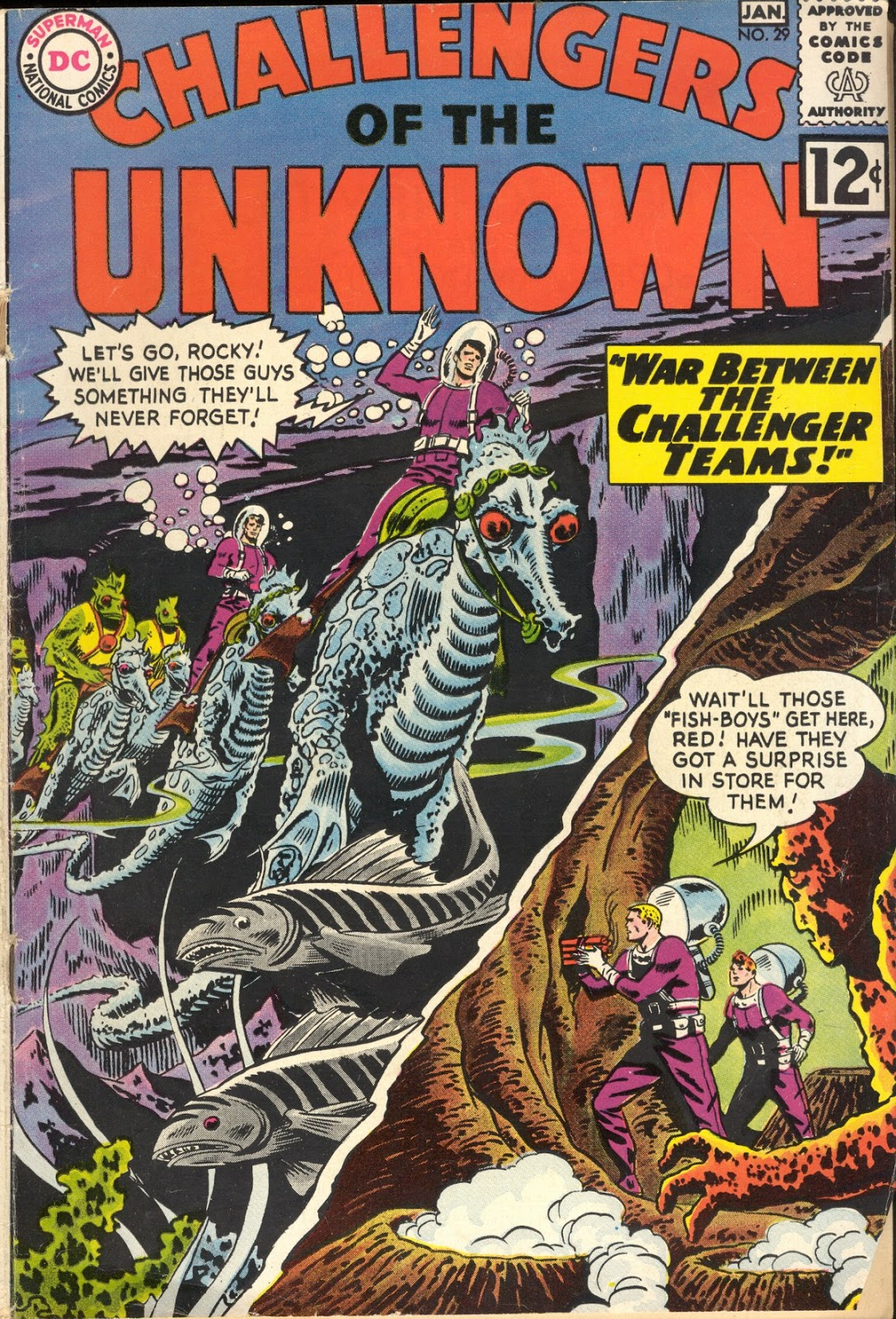 Challengers of the Unknown (1958) 29 Page 1
