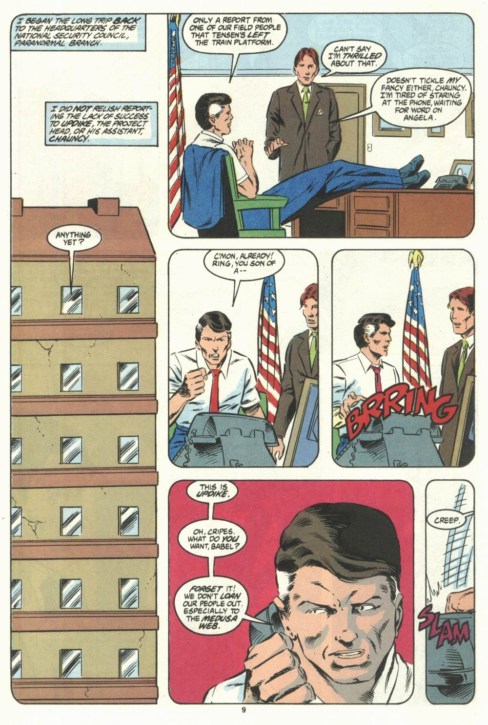 Read online Justice (1986) comic -  Issue #28 - 11