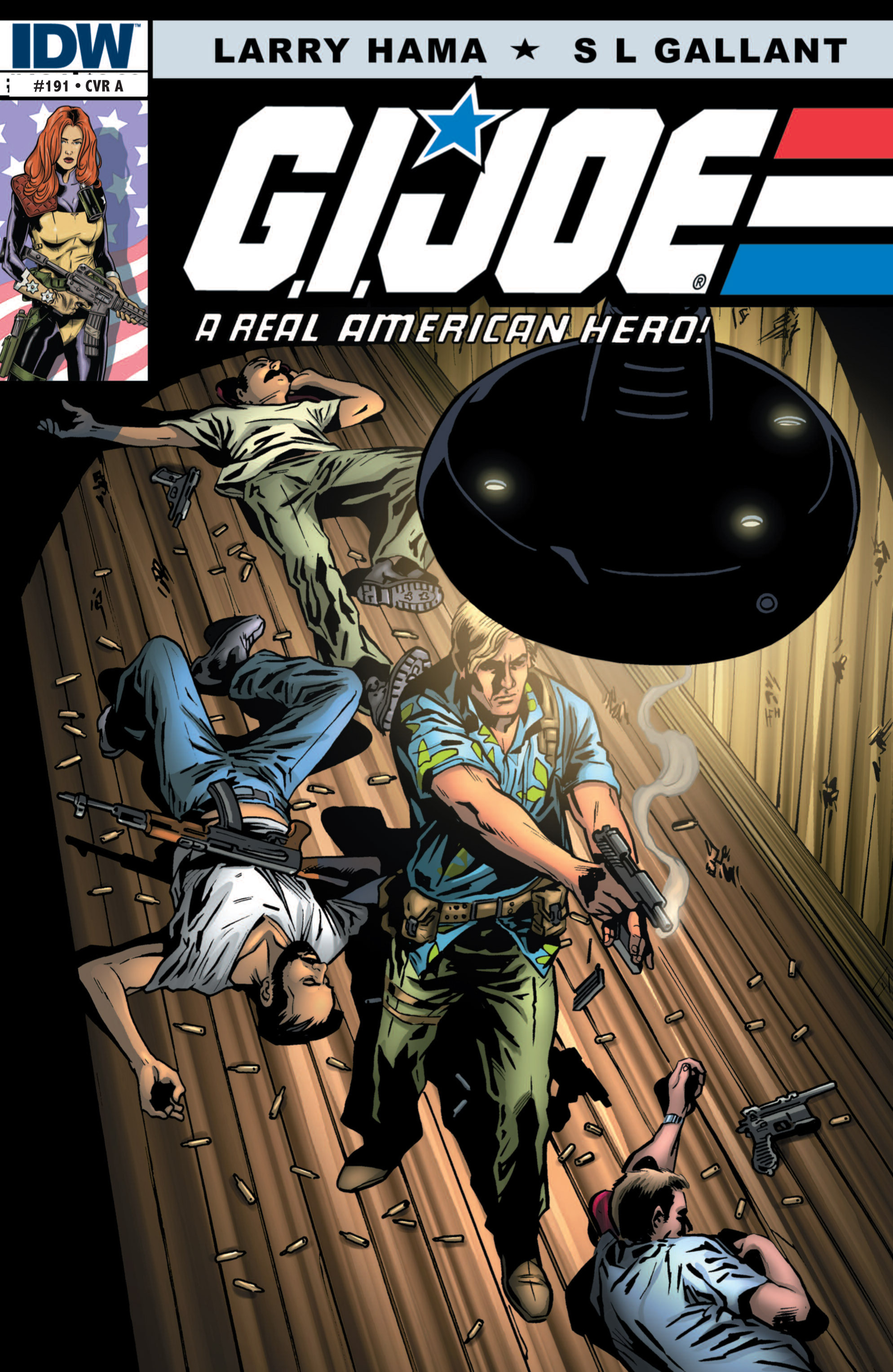 G.I. Joe: A Real American Hero 191 Page 1