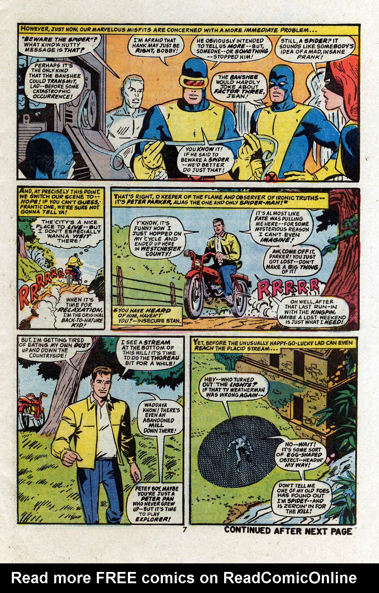Read online Uncanny X-Men (1963) comic -  Issue #83 - 9