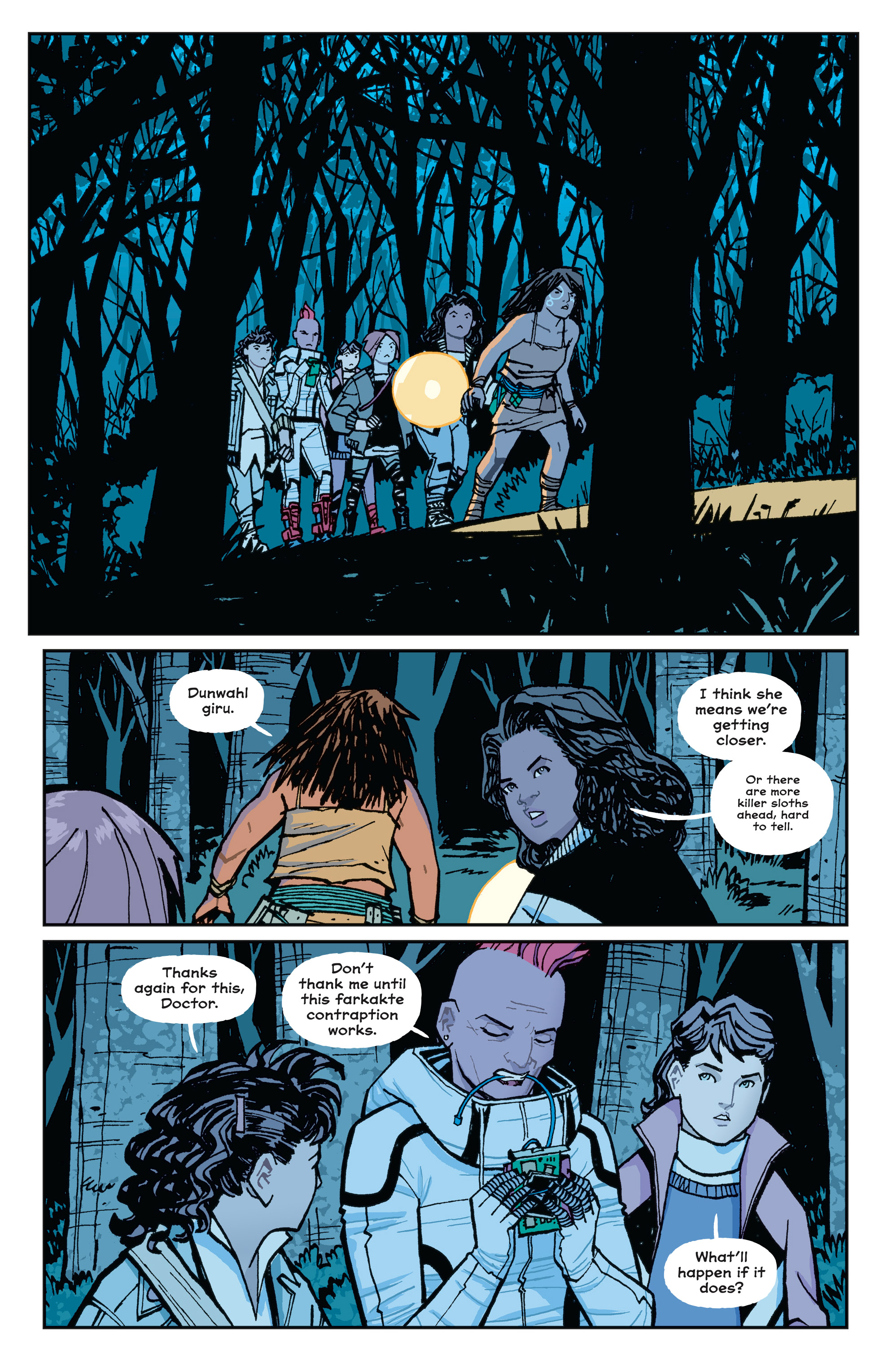 Read online Paper Girls comic -  Issue #15 - 14