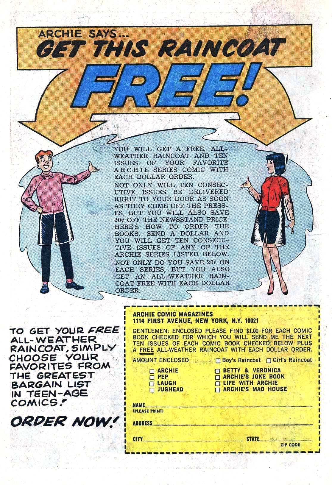 Read online Archie (1960) comic -  Issue #164 - 19