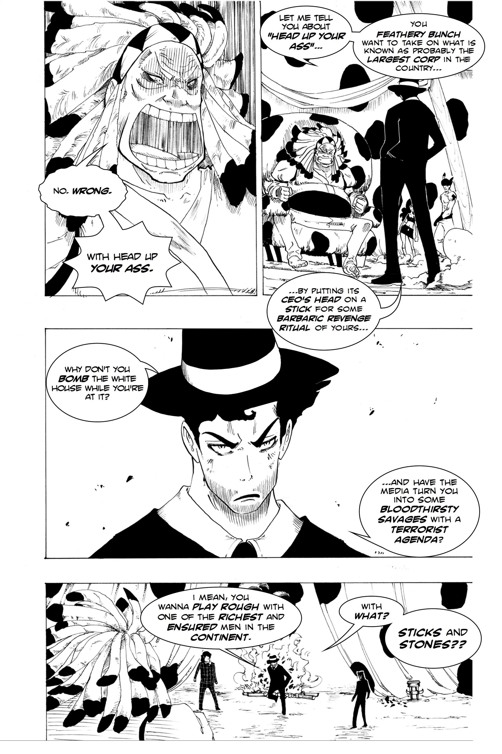 Read online Silvertongue 30xx Vol. 1 comic -  Issue # Full - 24