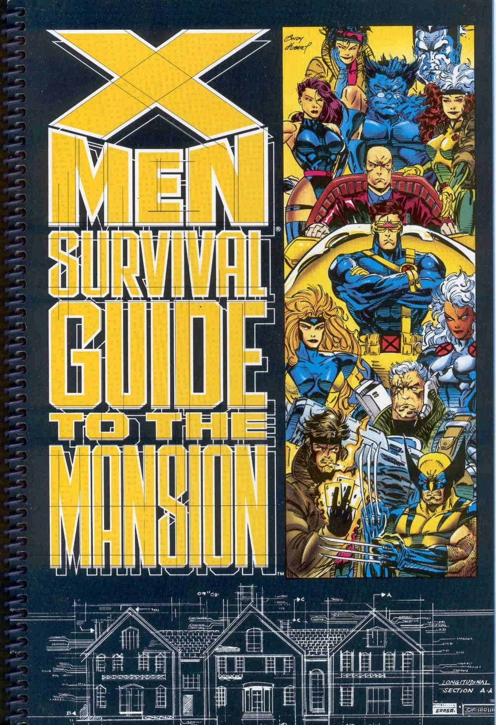 X-Men Survival Guide to the Mansion Full Page 1