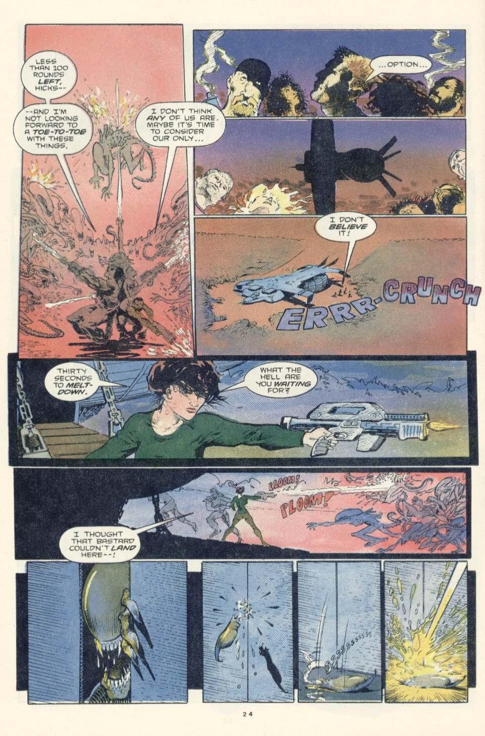 Read online Aliens: Earth War comic -  Issue #3 - 26