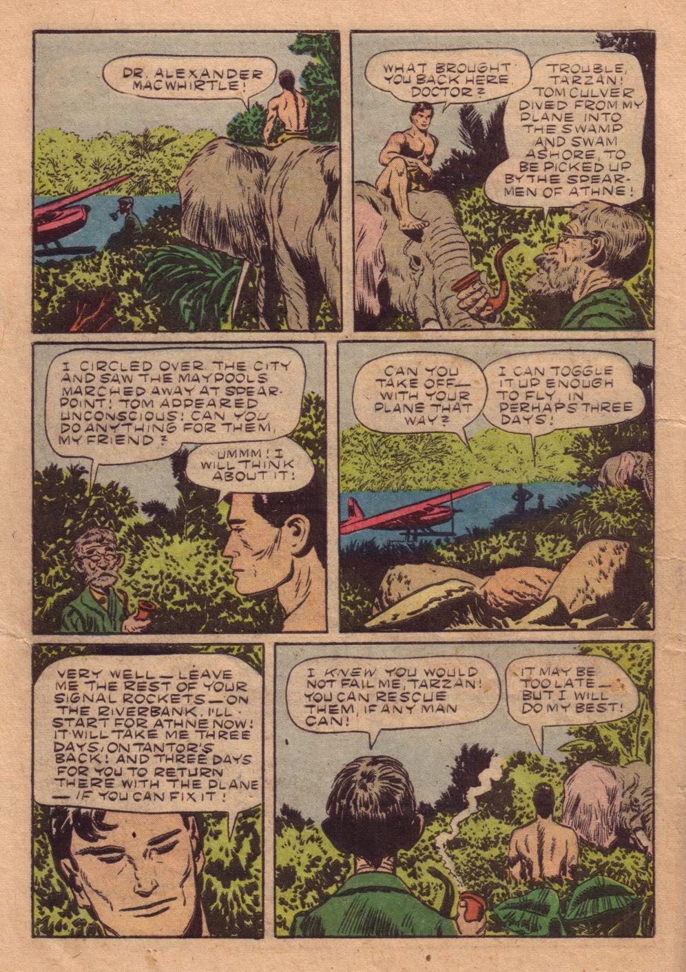 Tarzan (1948) issue 40 - Page 14