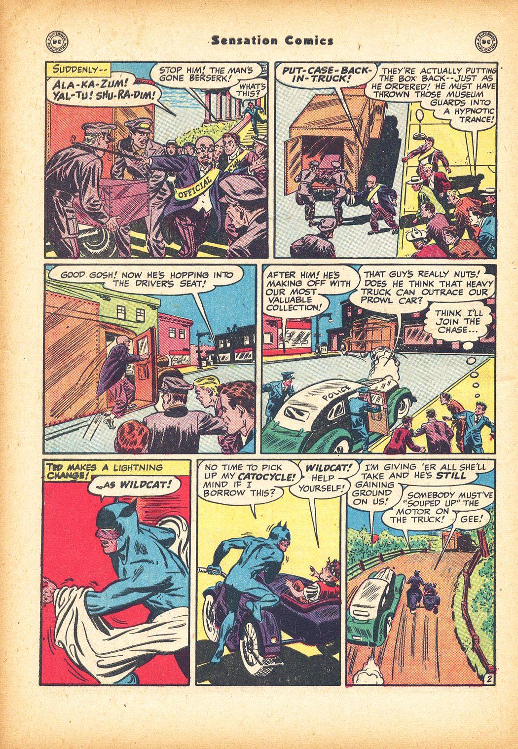 Read online Sensation (Mystery) Comics comic -  Issue #78 - 44