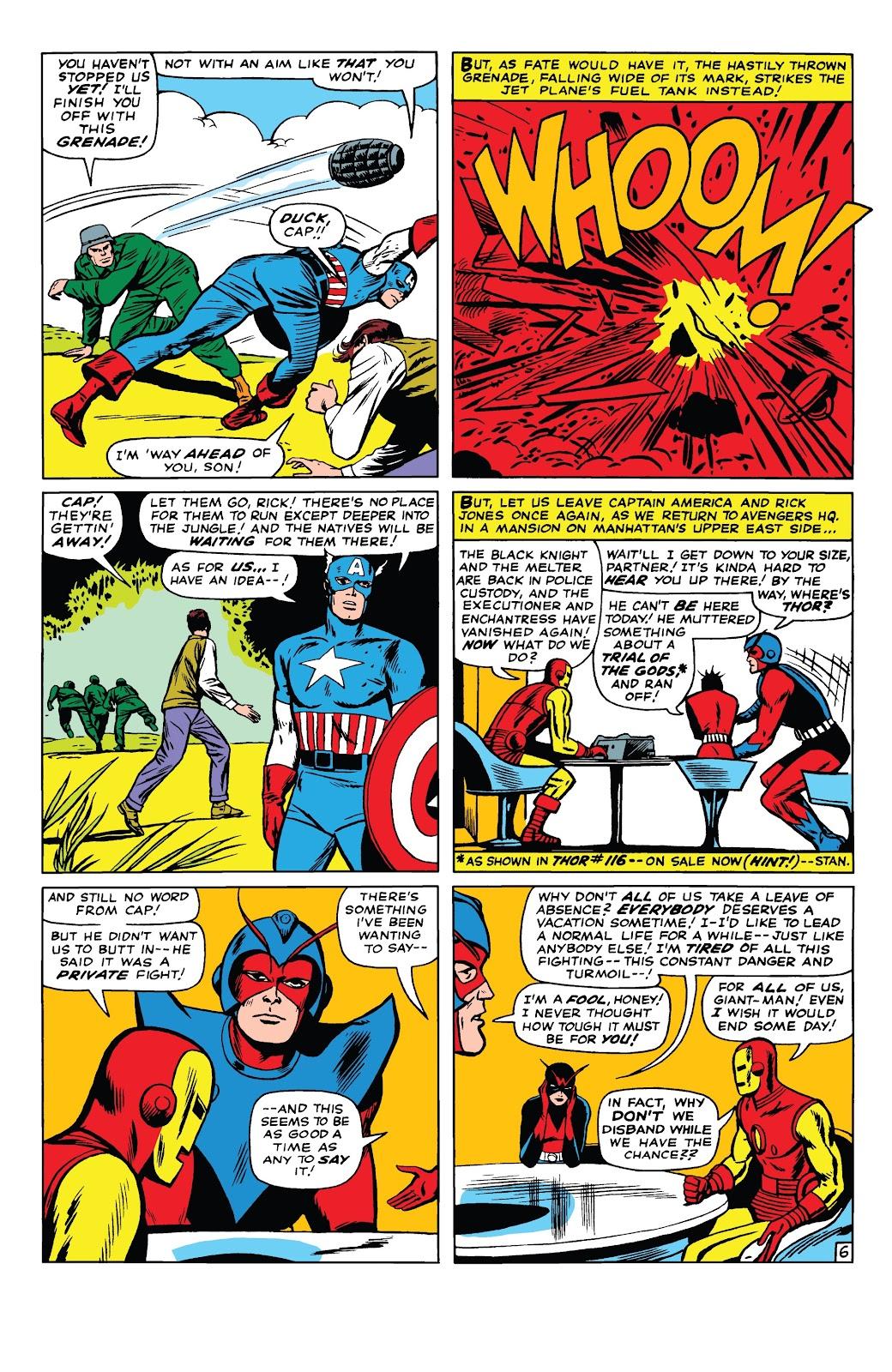 Read online Marvel Tales: Avengers comic -  Issue # Full - 11