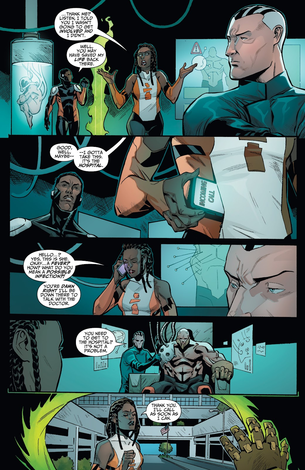 Read online Incidentals comic -  Issue #18 - 16