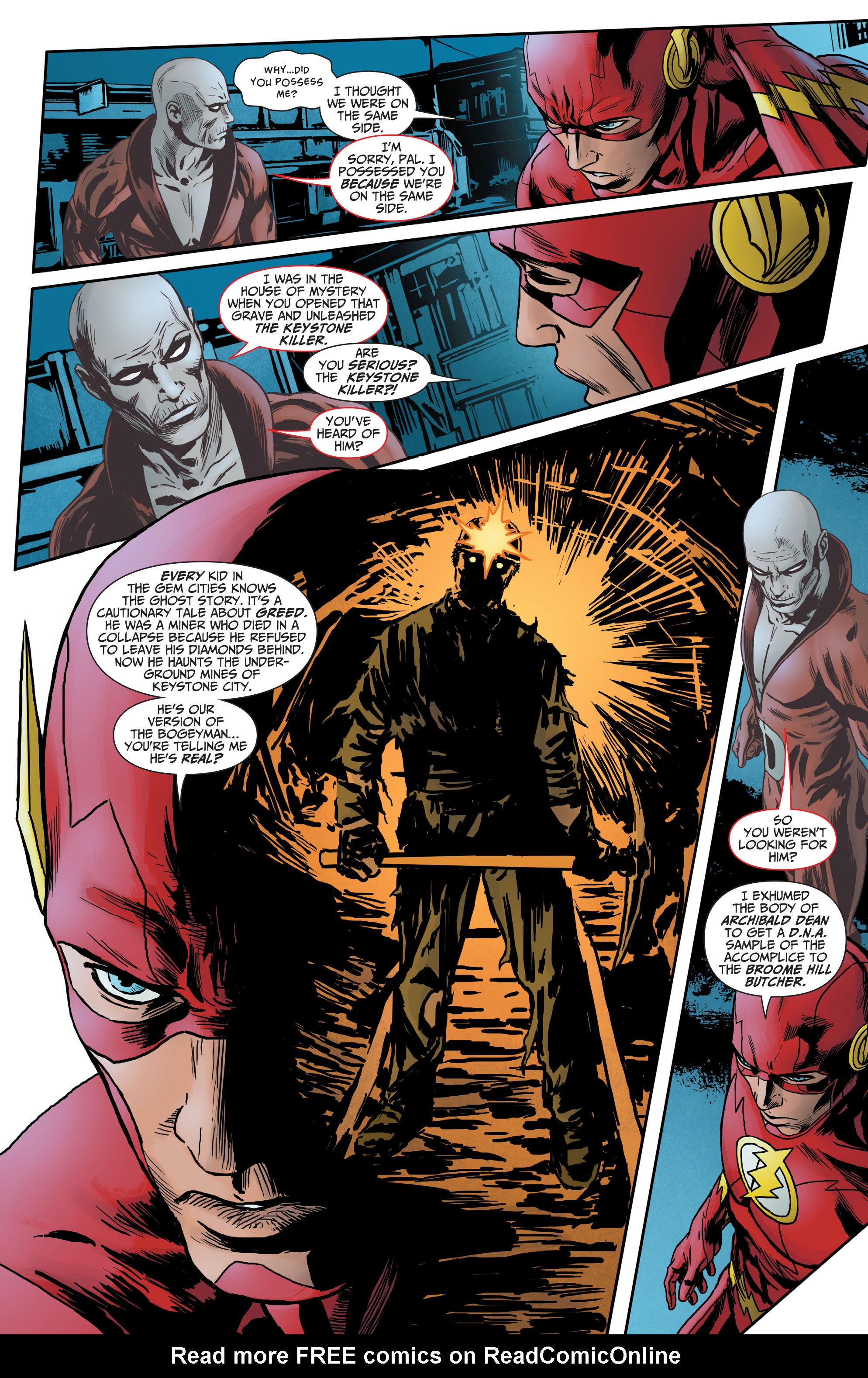 Read online The Flash (2011) comic -  Issue # _TPB 5 - 92