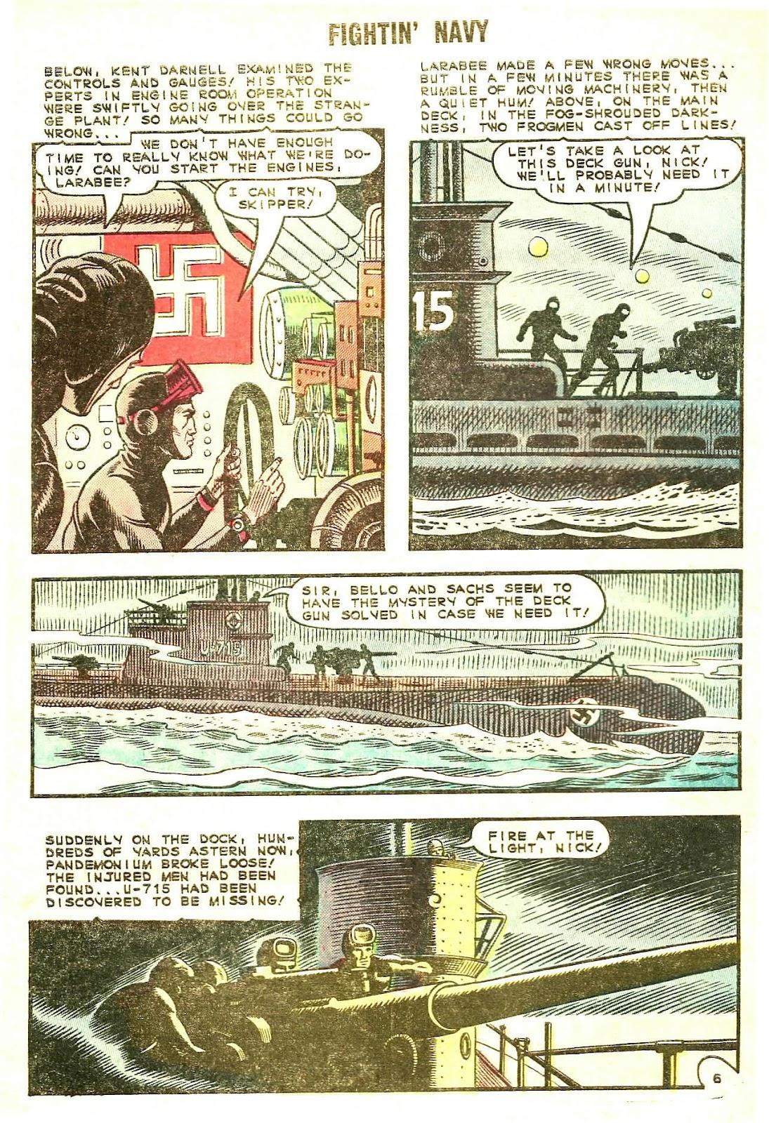 Read online Fightin' Navy comic -  Issue #120 - 32
