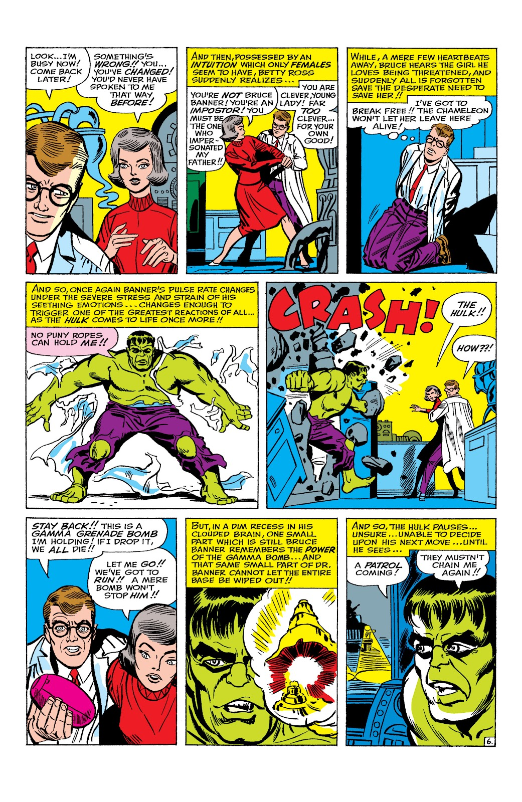 Read online Marvel Masterworks: The Incredible Hulk comic -  Issue # TPB 2 (Part 1) - 51