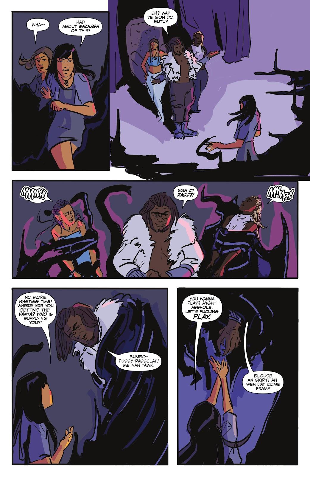 Read online Black (AF): Devil's Dye comic -  Issue #2 - 12