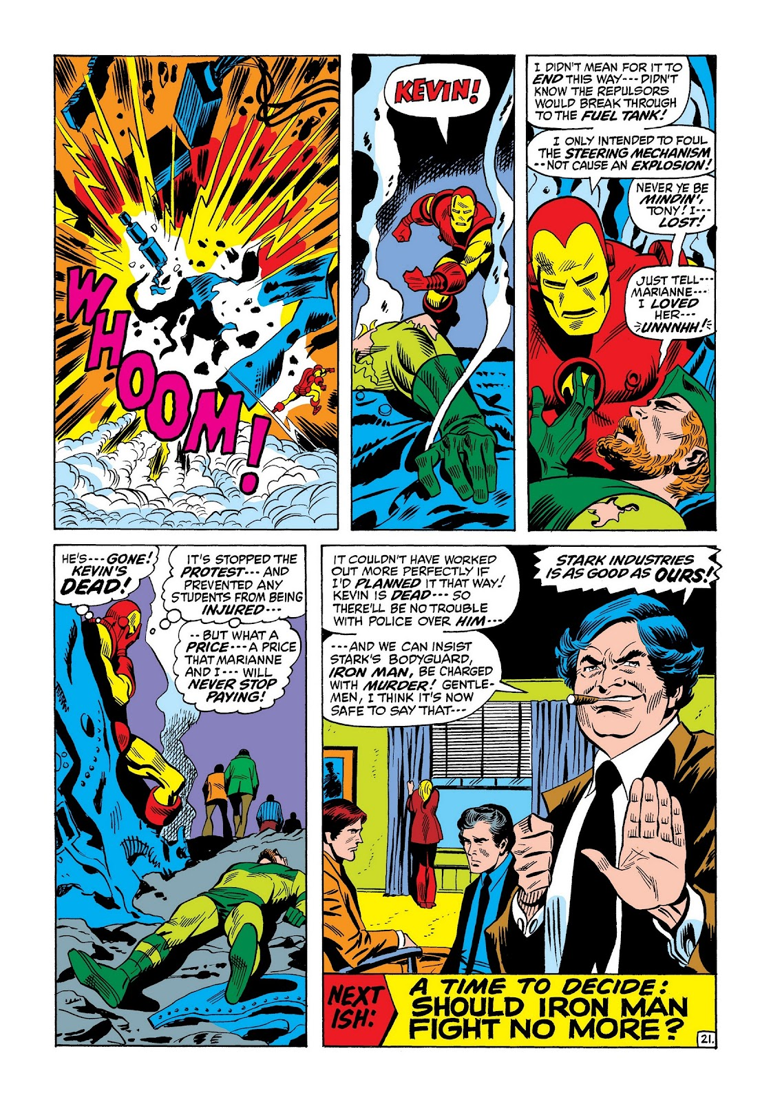 Read online Marvel Masterworks: The Invincible Iron Man comic -  Issue # TPB 8 (Part 2) - 65