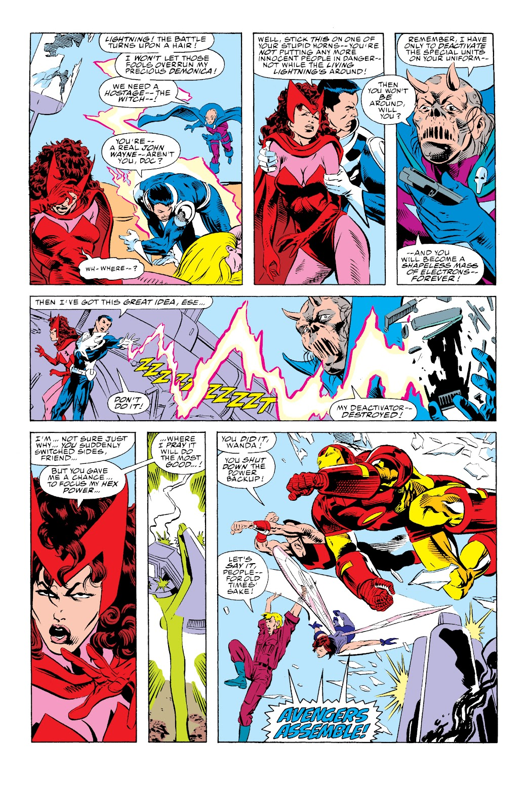 Avengers West Coast (1989) issue 74 - Page 10