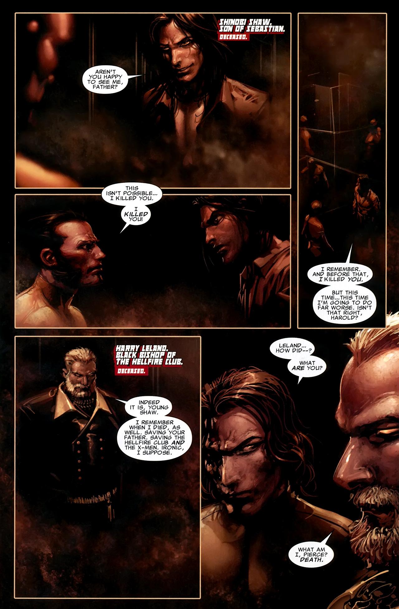 Read online X Necrosha comic -  Issue # Full - 11