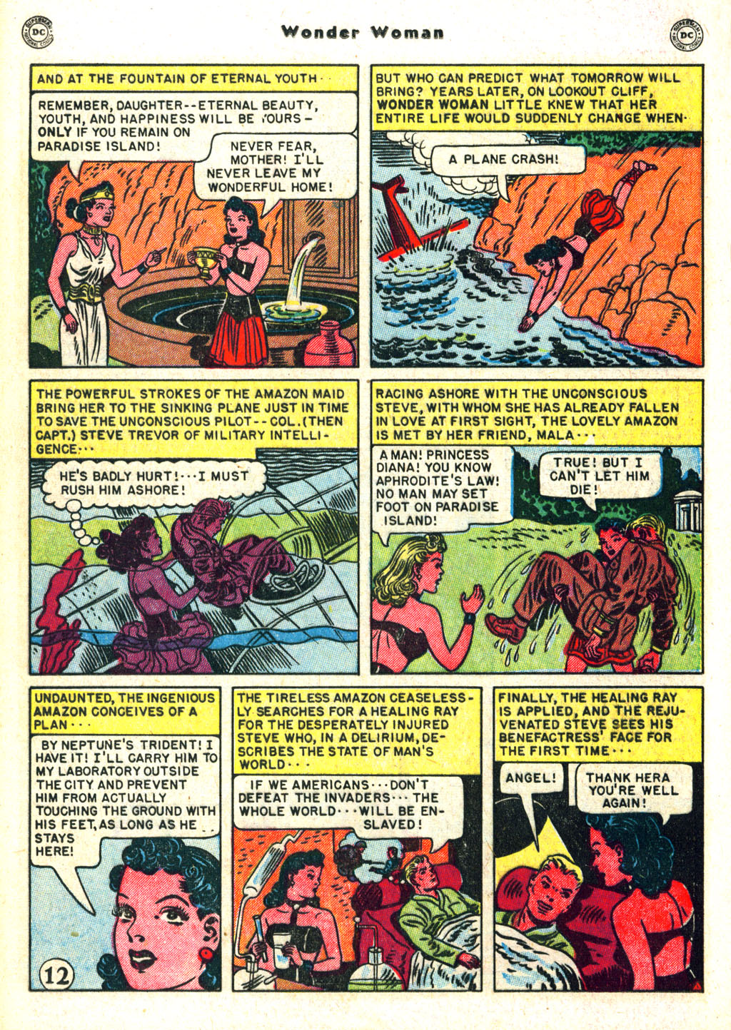 Read online Wonder Woman (1942) comic -  Issue #45 - 16