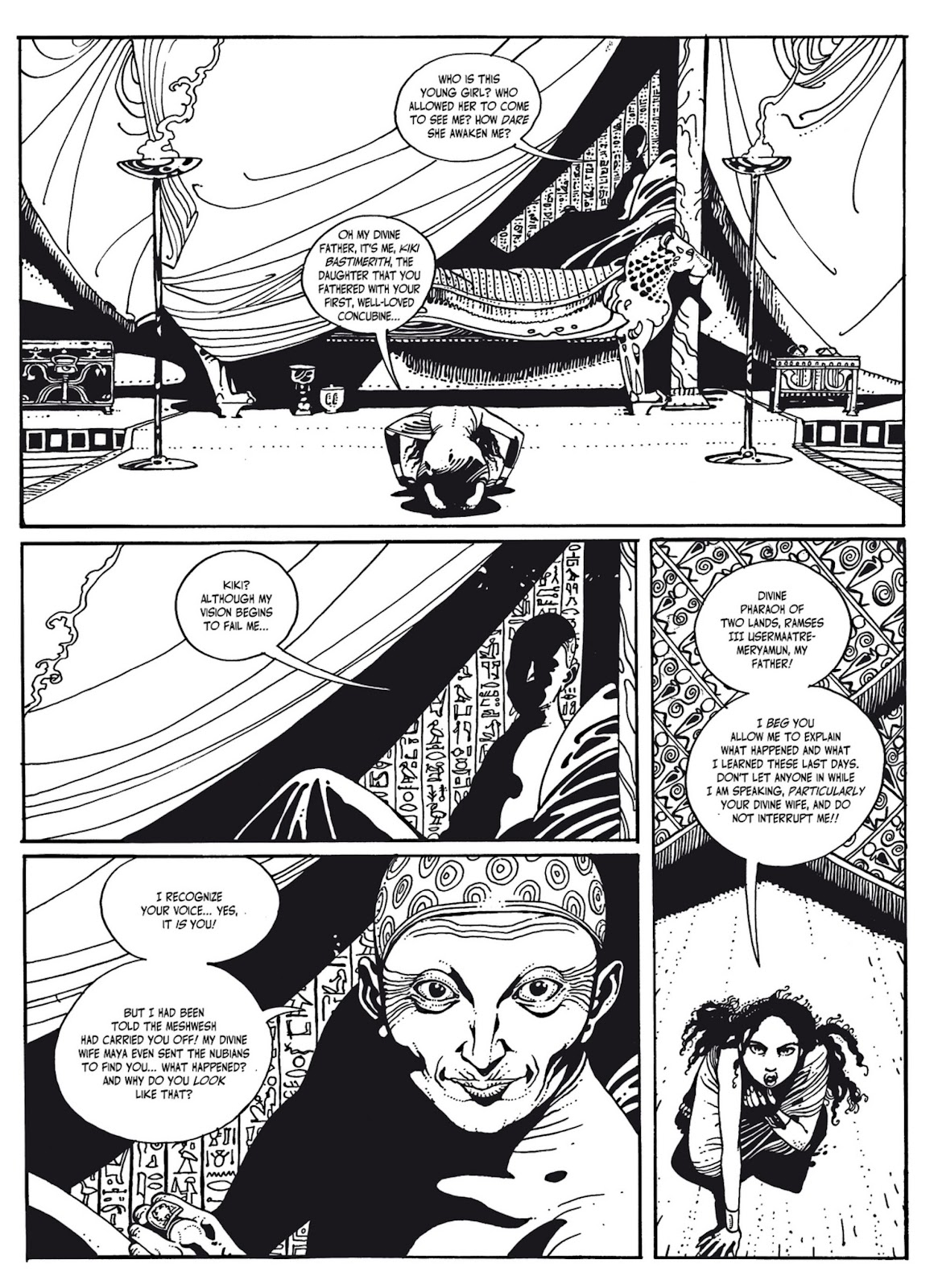 Read online The Egyptian Princesses comic -  Issue # TPB 1 (Part 3) - 41