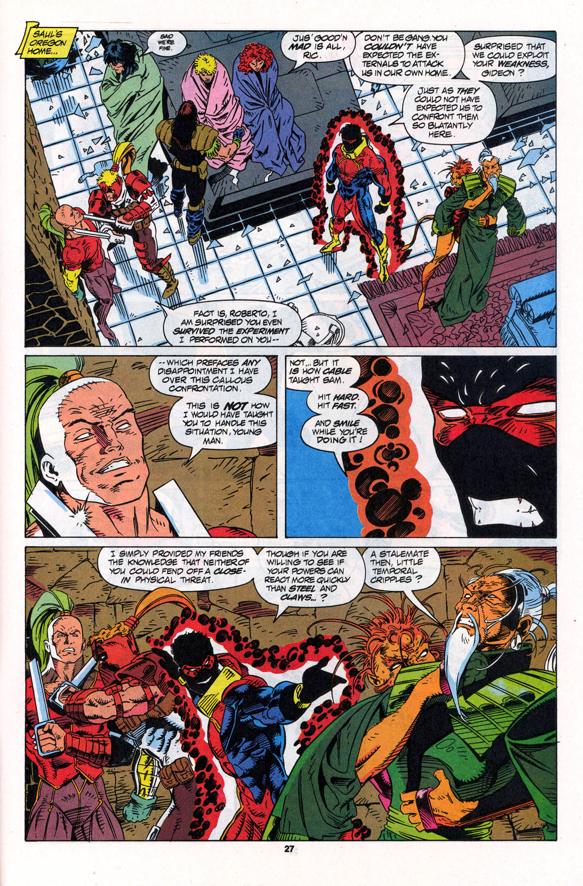 Read online X-Force (1991) comic -  Issue #23 - 27