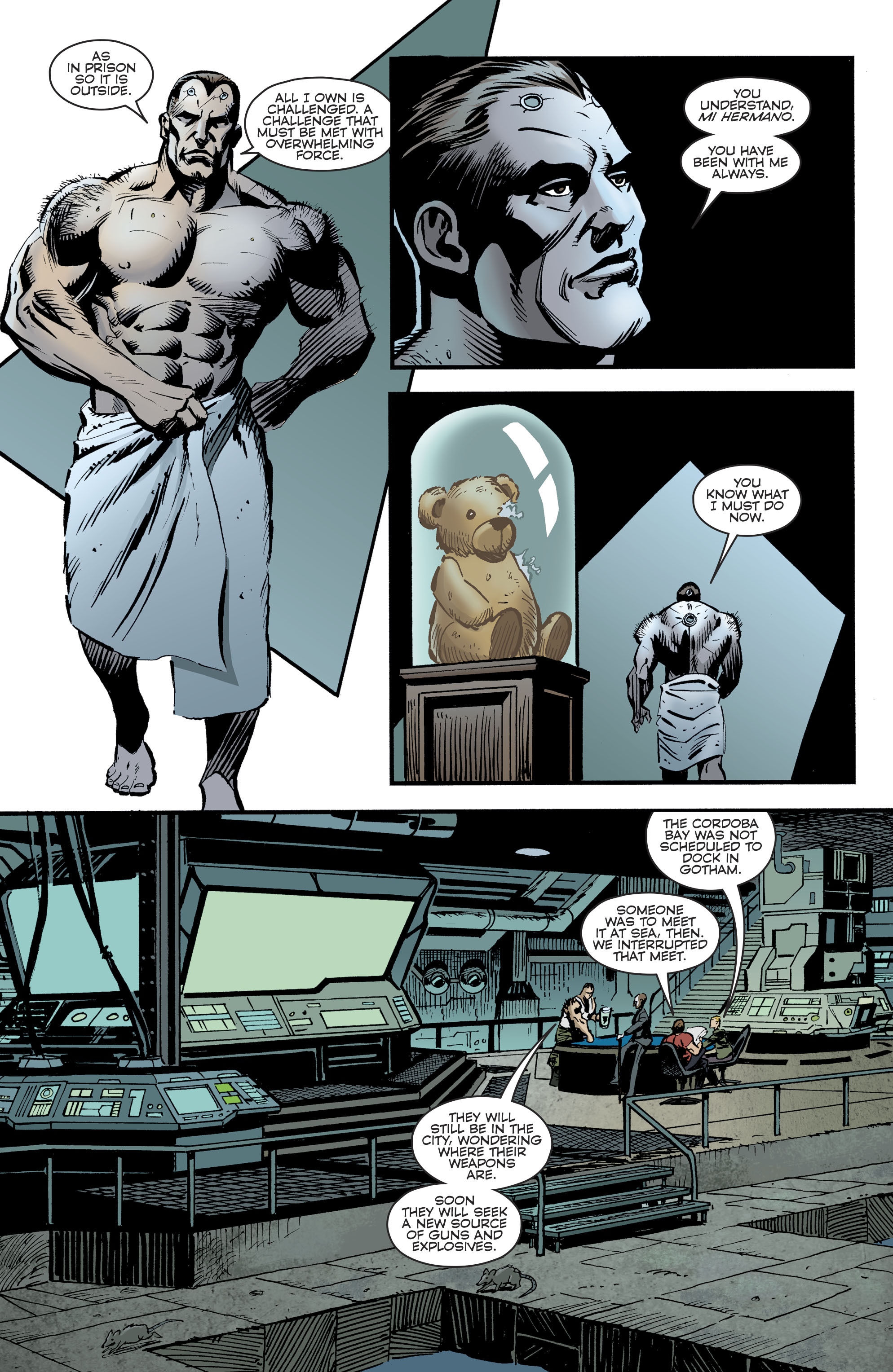 Read online Bane: Conquest comic -  Issue #1 - 12