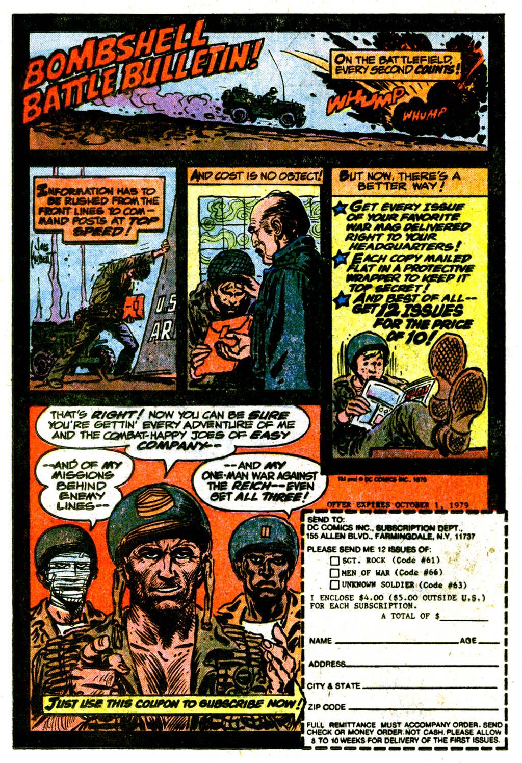 Read online Sgt. Rock comic -  Issue #334 - 19