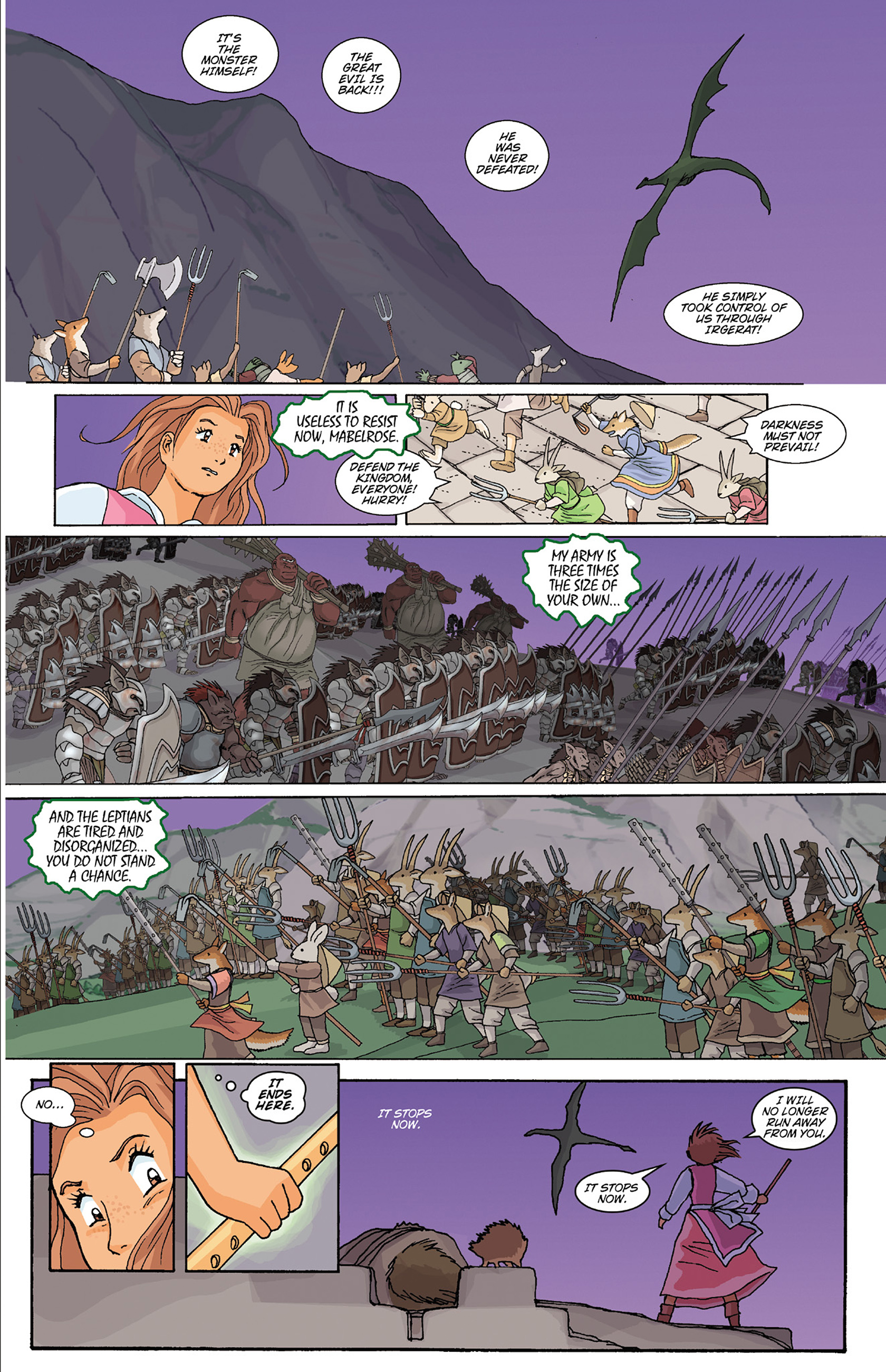 Read online Courageous Princess comic -  Issue # TPB 1 - 227