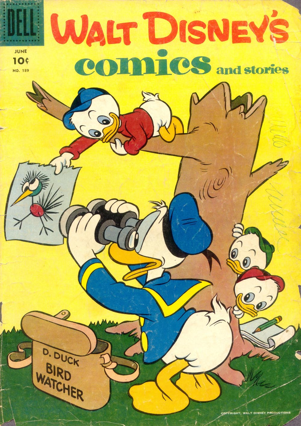 Walt Disneys Comics and Stories 189 Page 1