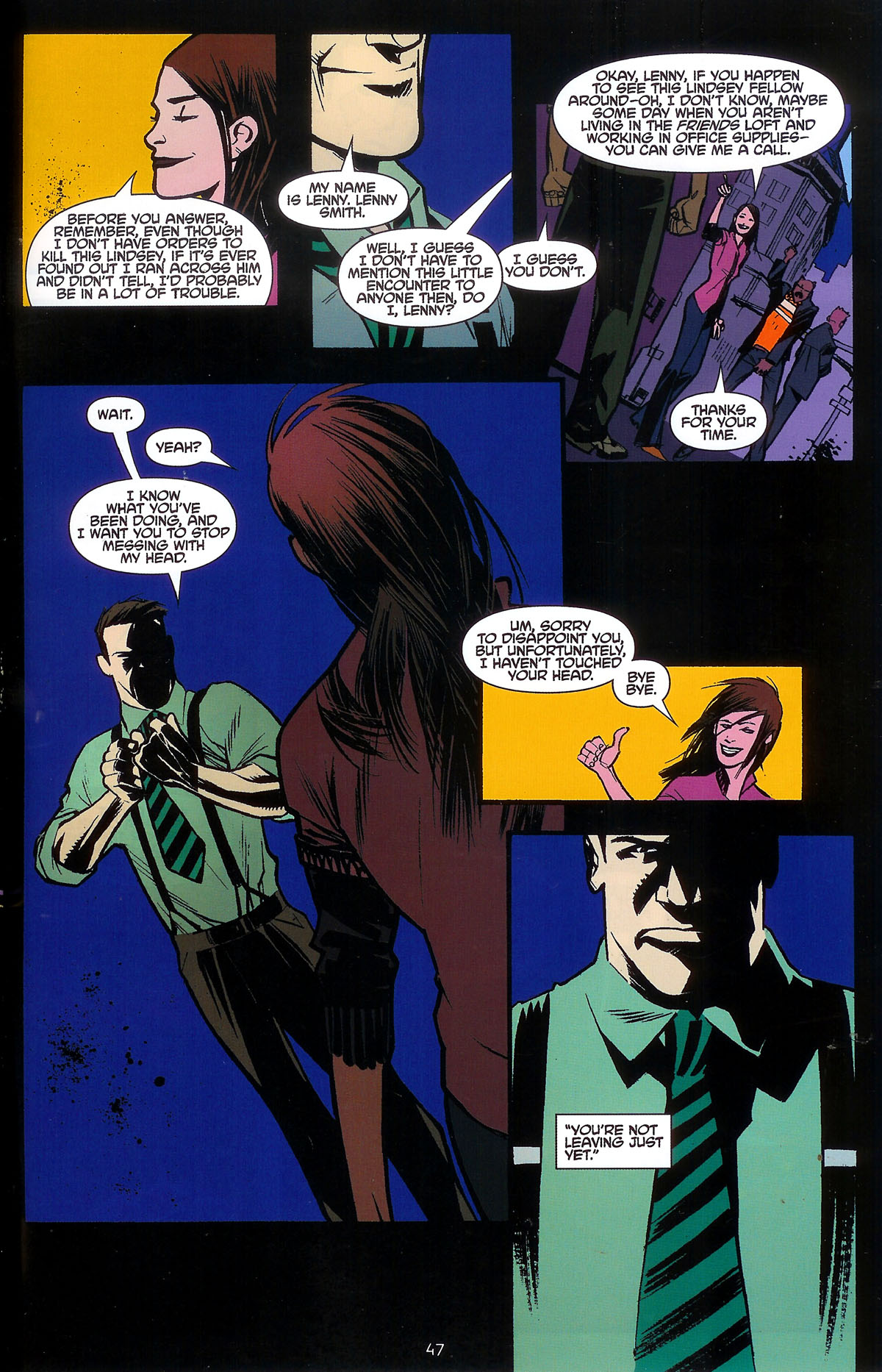 Read online Angel: Masks comic -  Issue # Full - 49