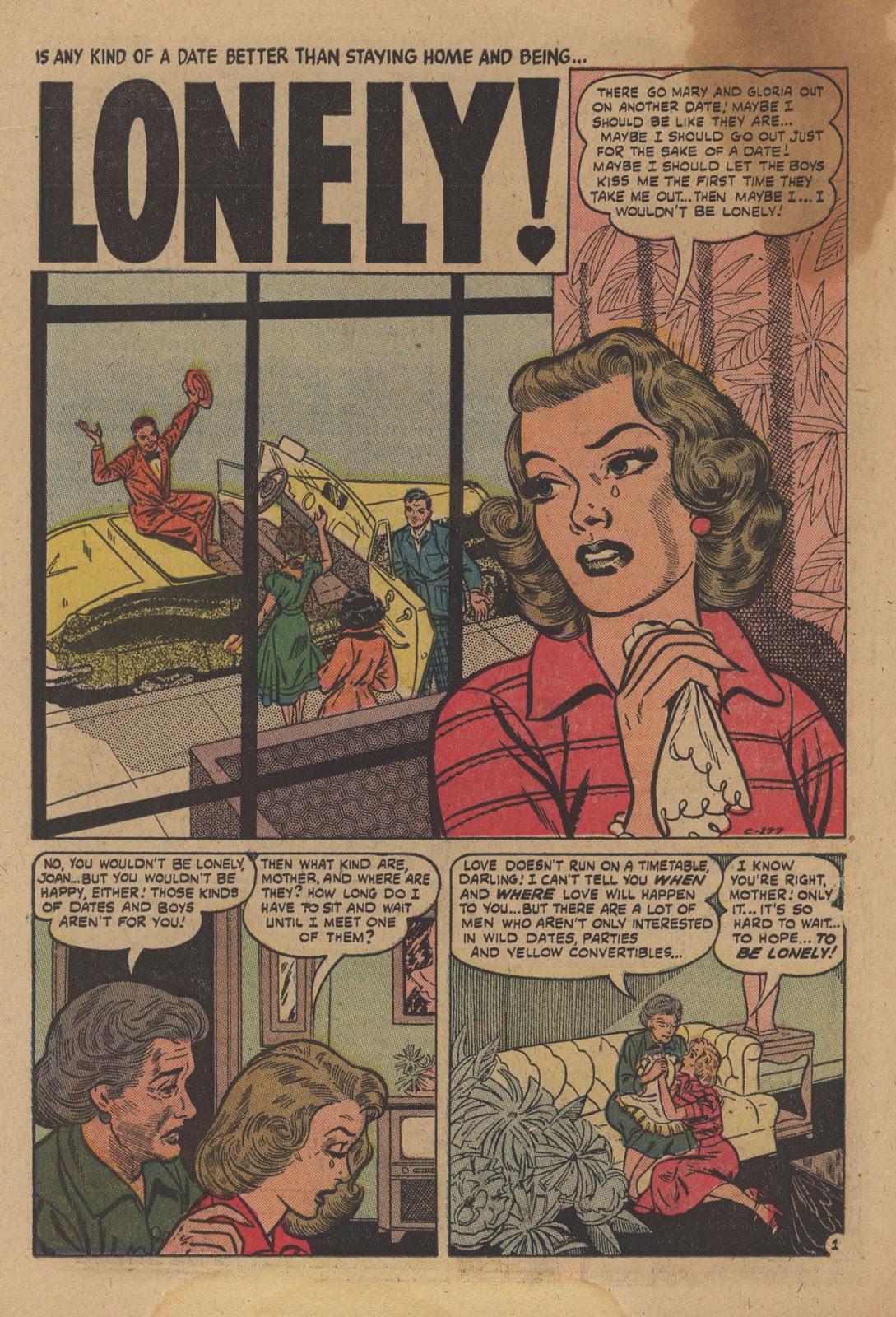 Love Romances (1949) issue 28 - Page 22