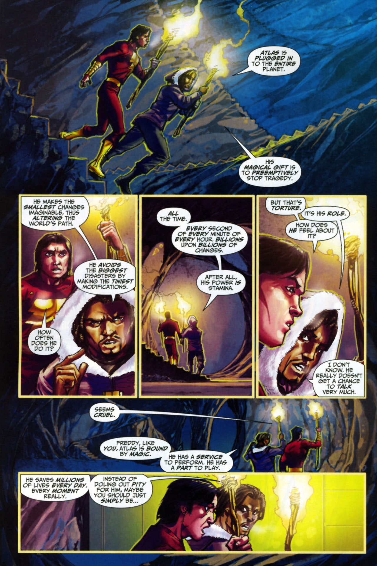 Read online Trials of Shazam comic -  Issue #8 - 4