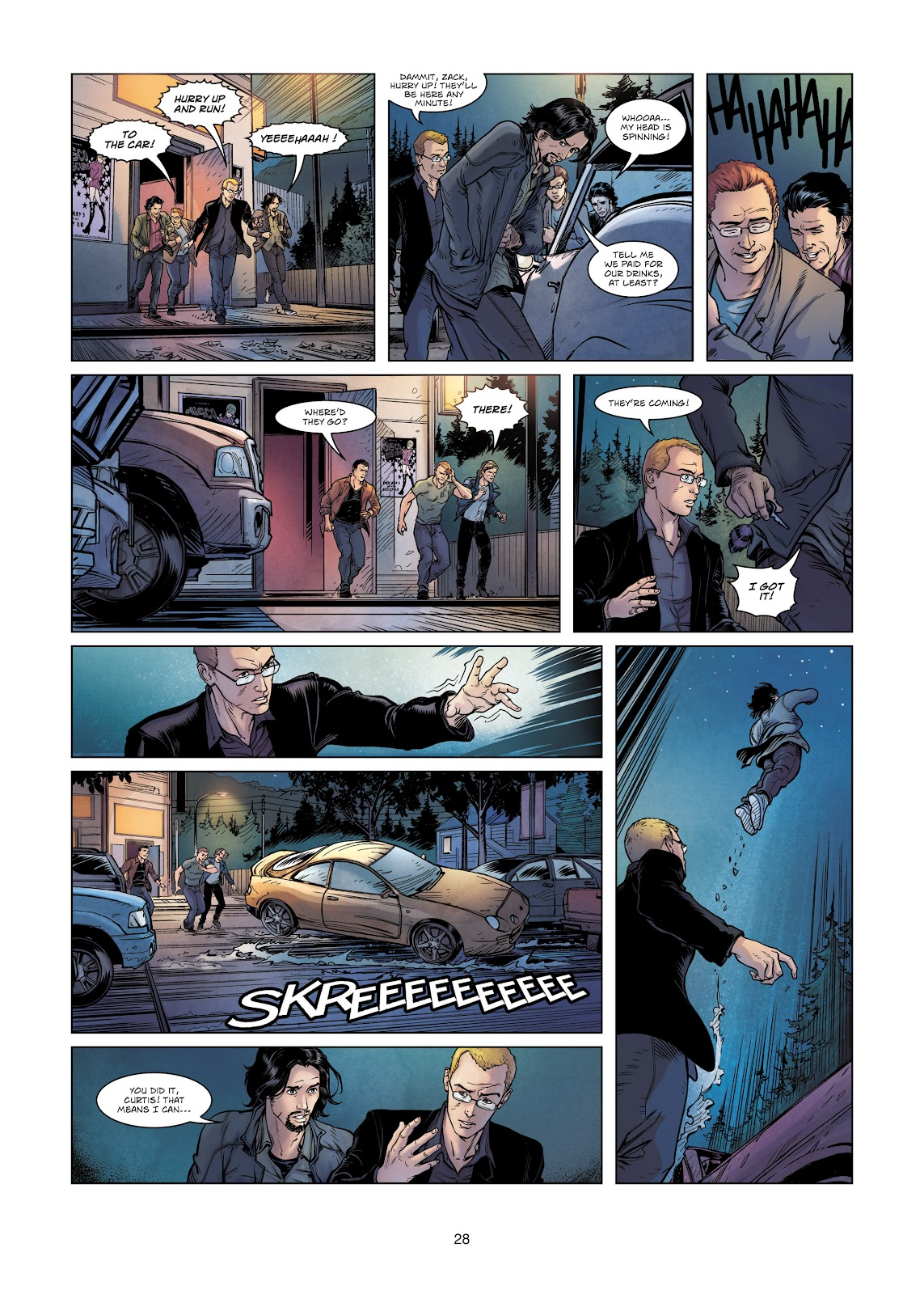 Read online Vigilantes comic -  Issue #2 - 28