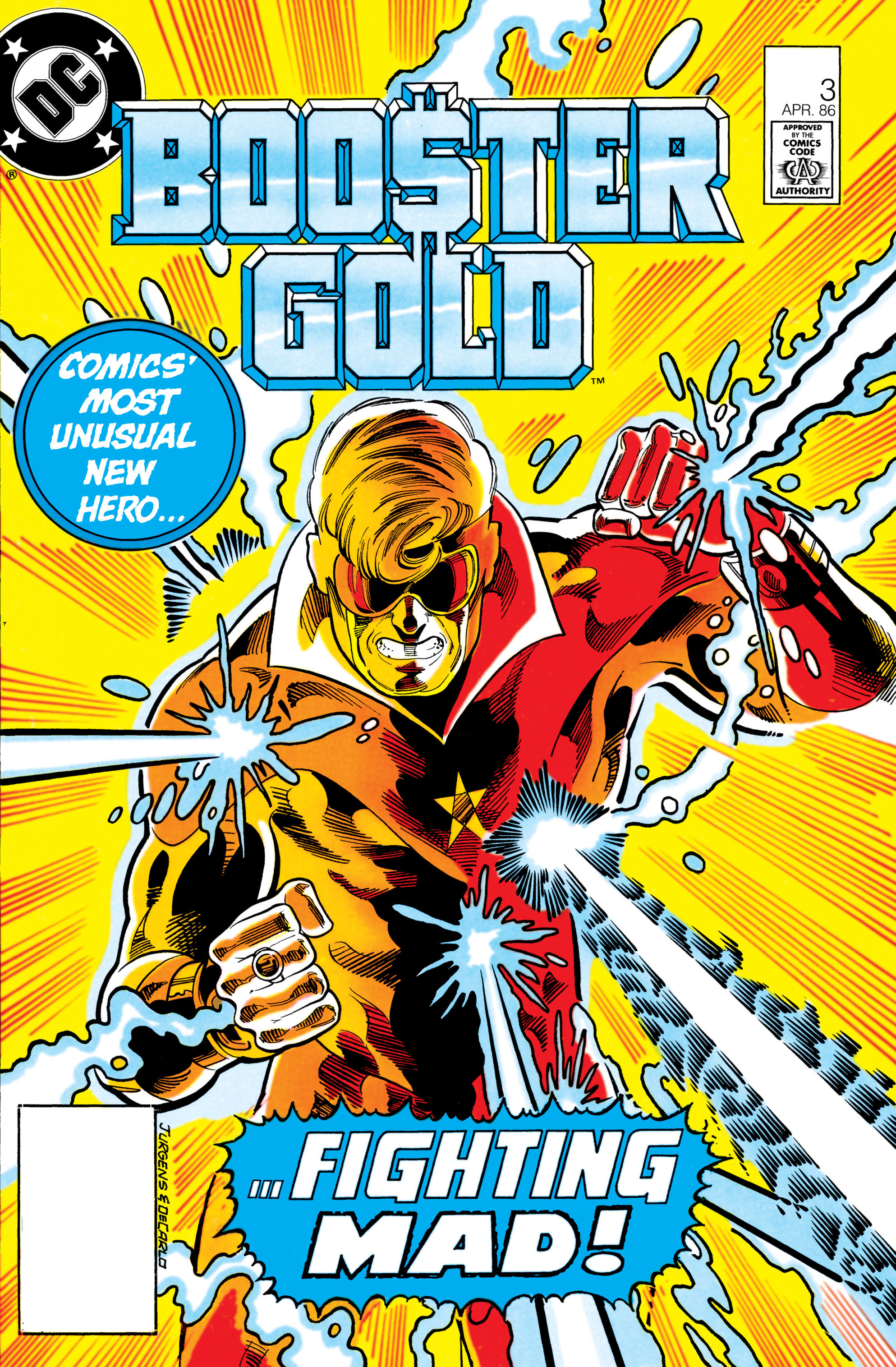 Booster Gold 1986 Issue 3