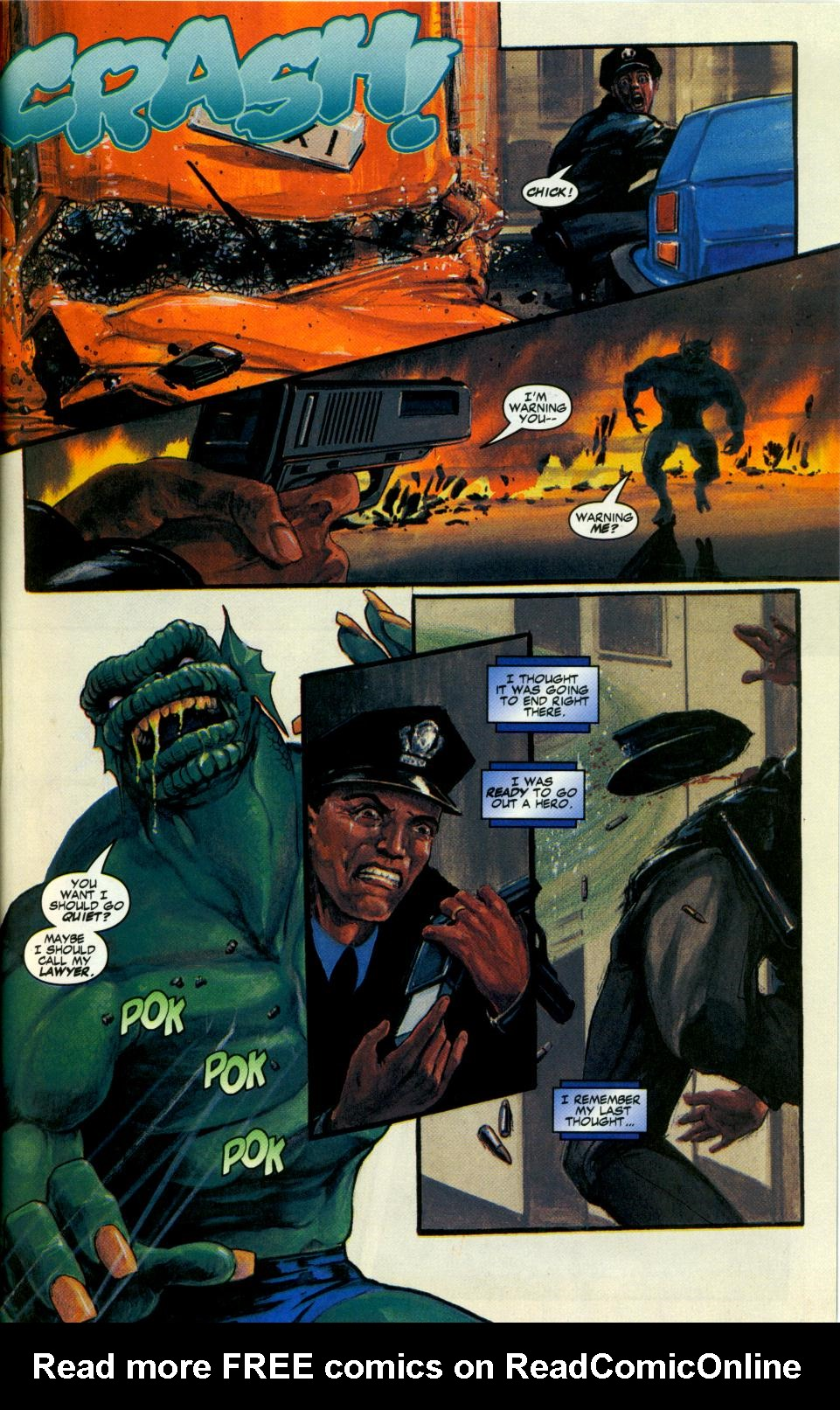 Read online Code of Honor comic -  Issue #3 - 39