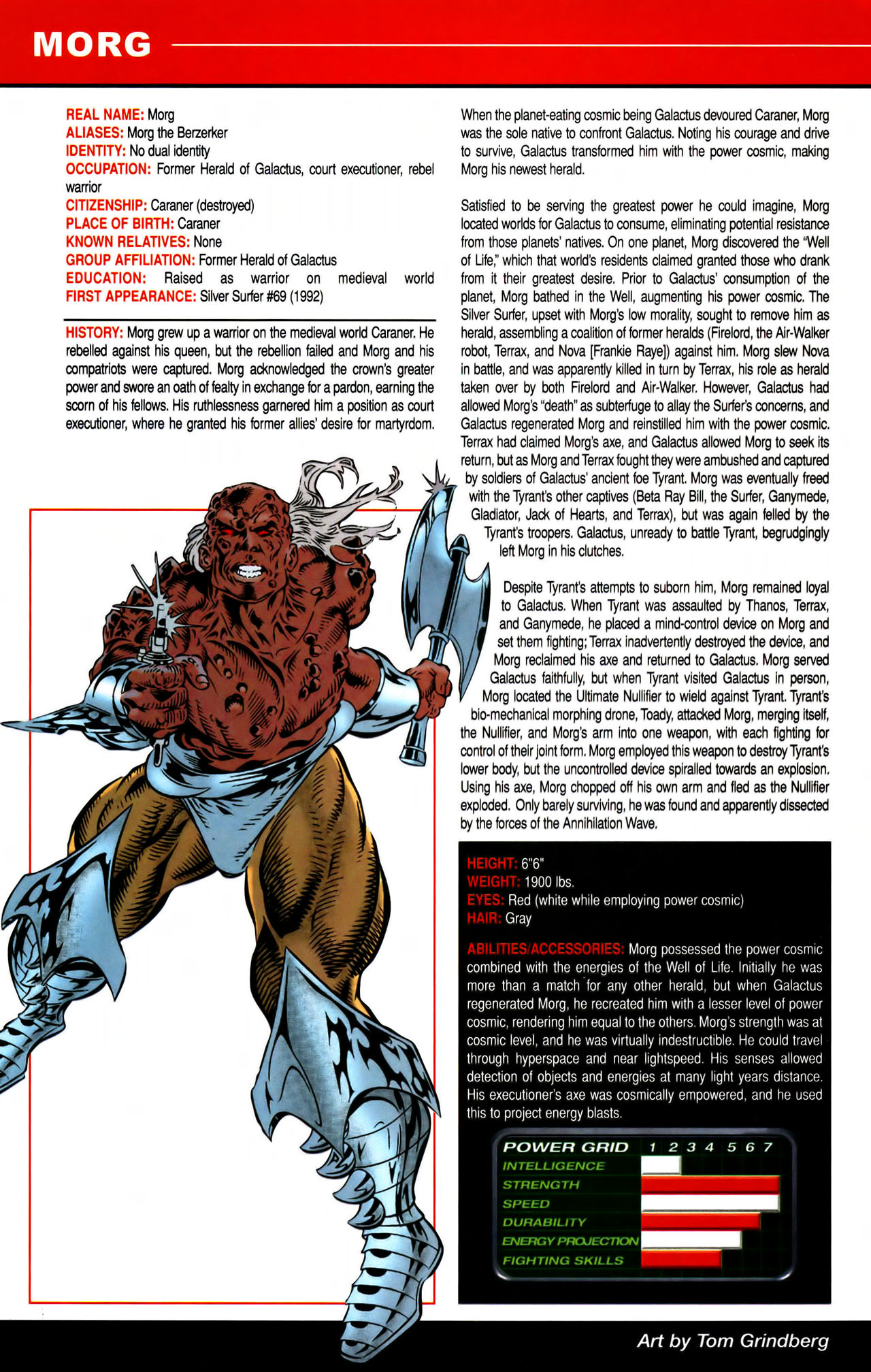 Read online All-New Official Handbook of the Marvel Universe A to Z comic -  Issue #7 - 52