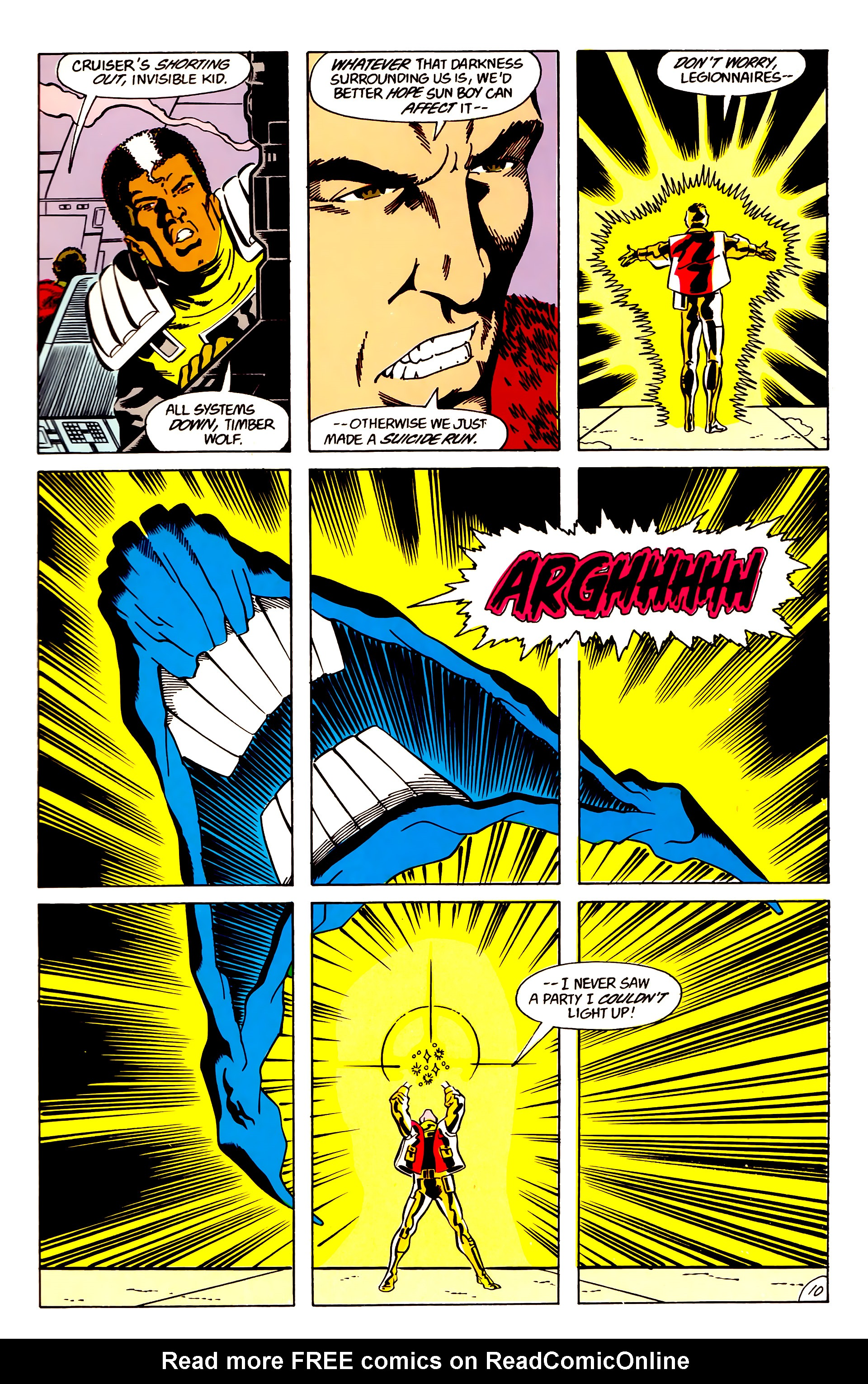Legion of Super-Heroes (1984) 63 Page 10