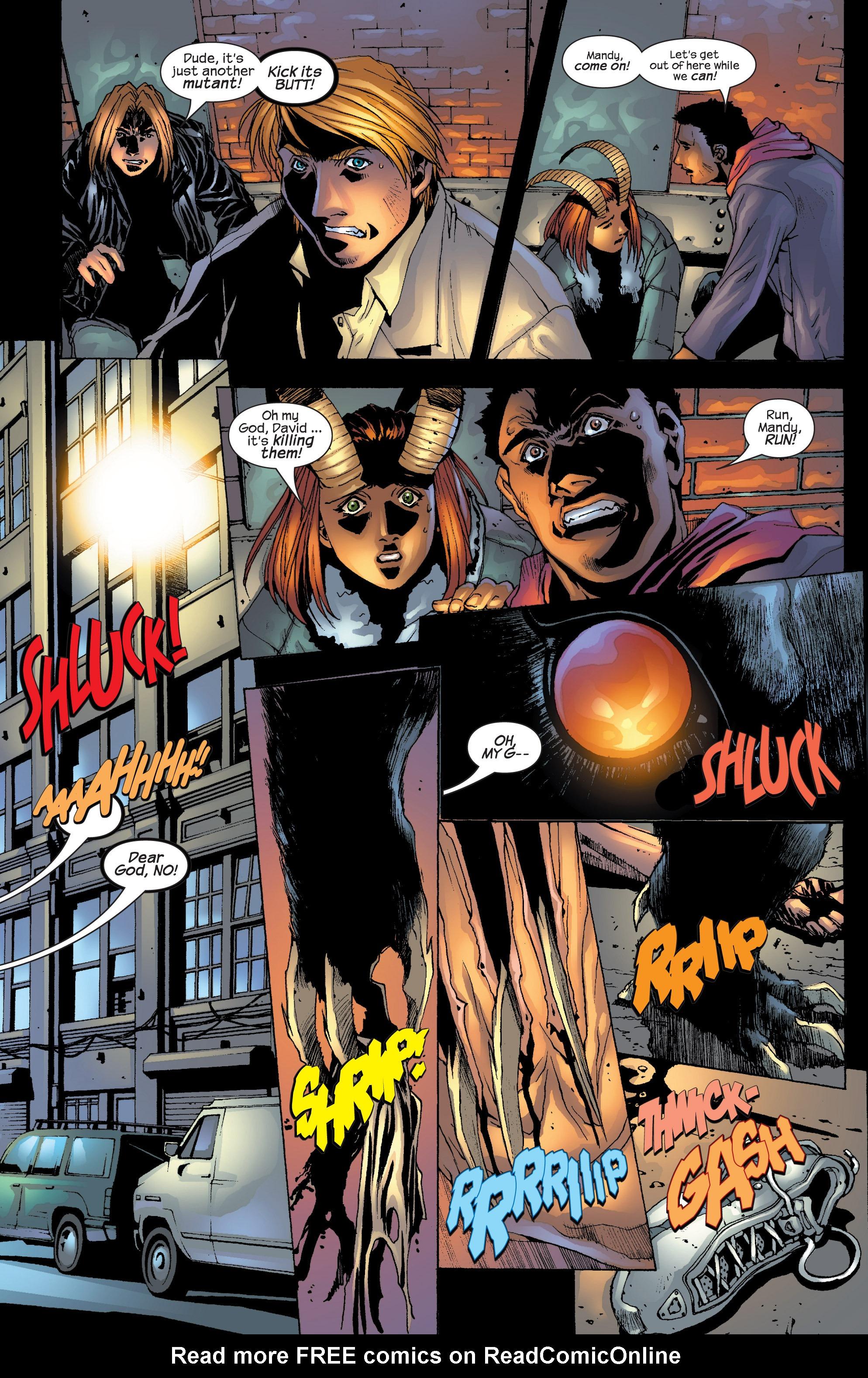 Read online Uncanny X-Men (1963) comic -  Issue #417 - 6