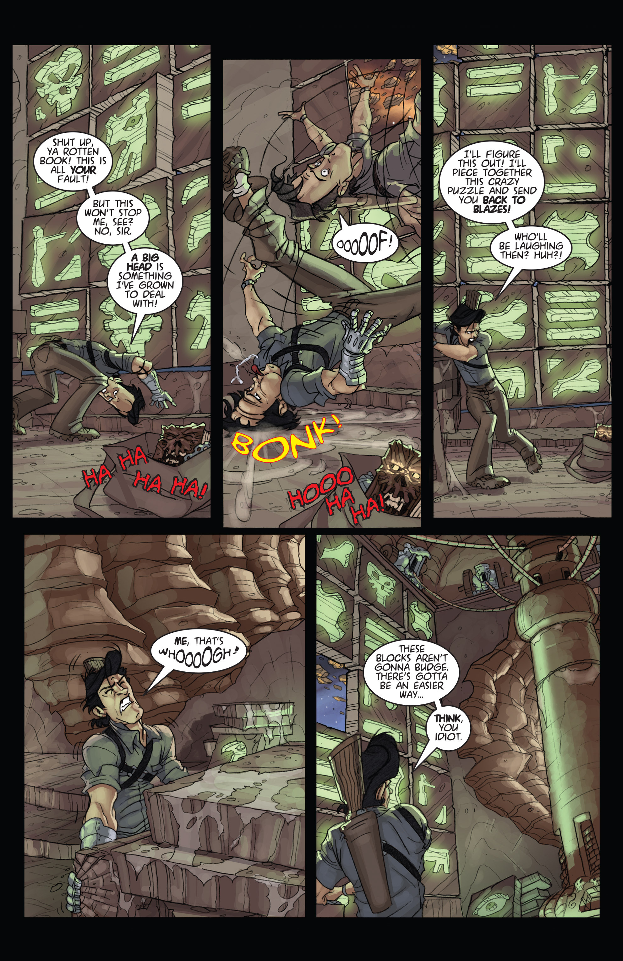 Read online Army of Darkness: Ashes 2 Ashes comic -  Issue #4 - 10