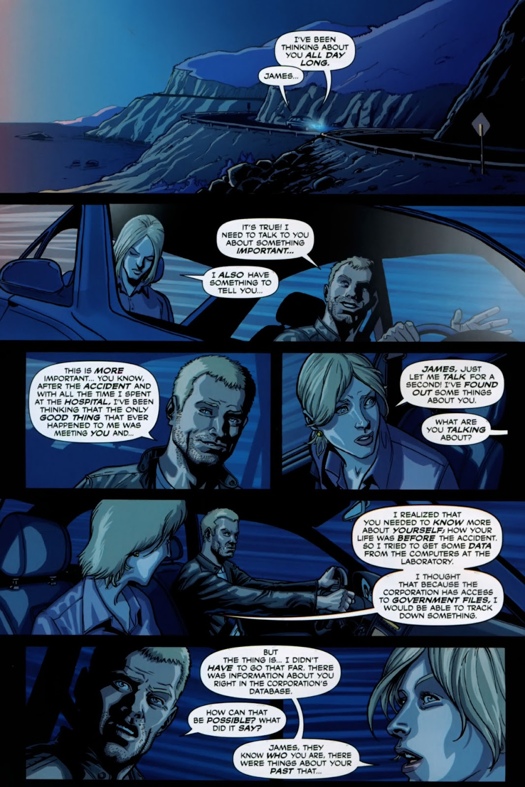 Read online Lazarus (2007) comic -  Issue #1 - 4