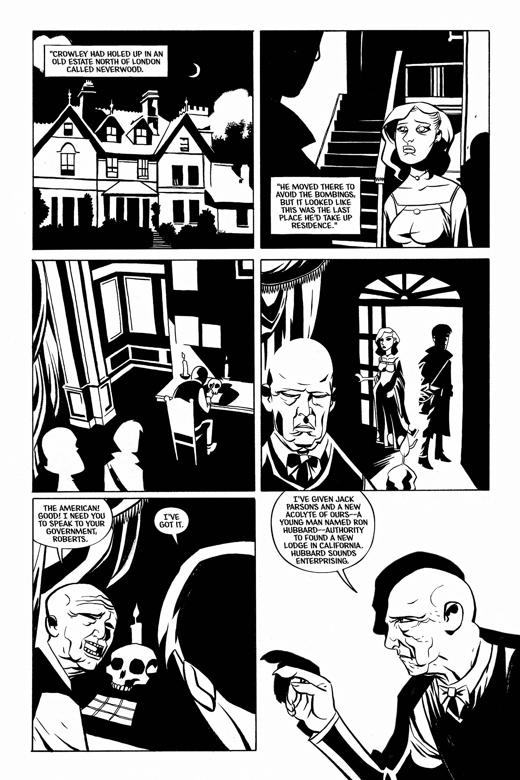 Read online Aleister & Adolf comic -  Issue # TPB - 65
