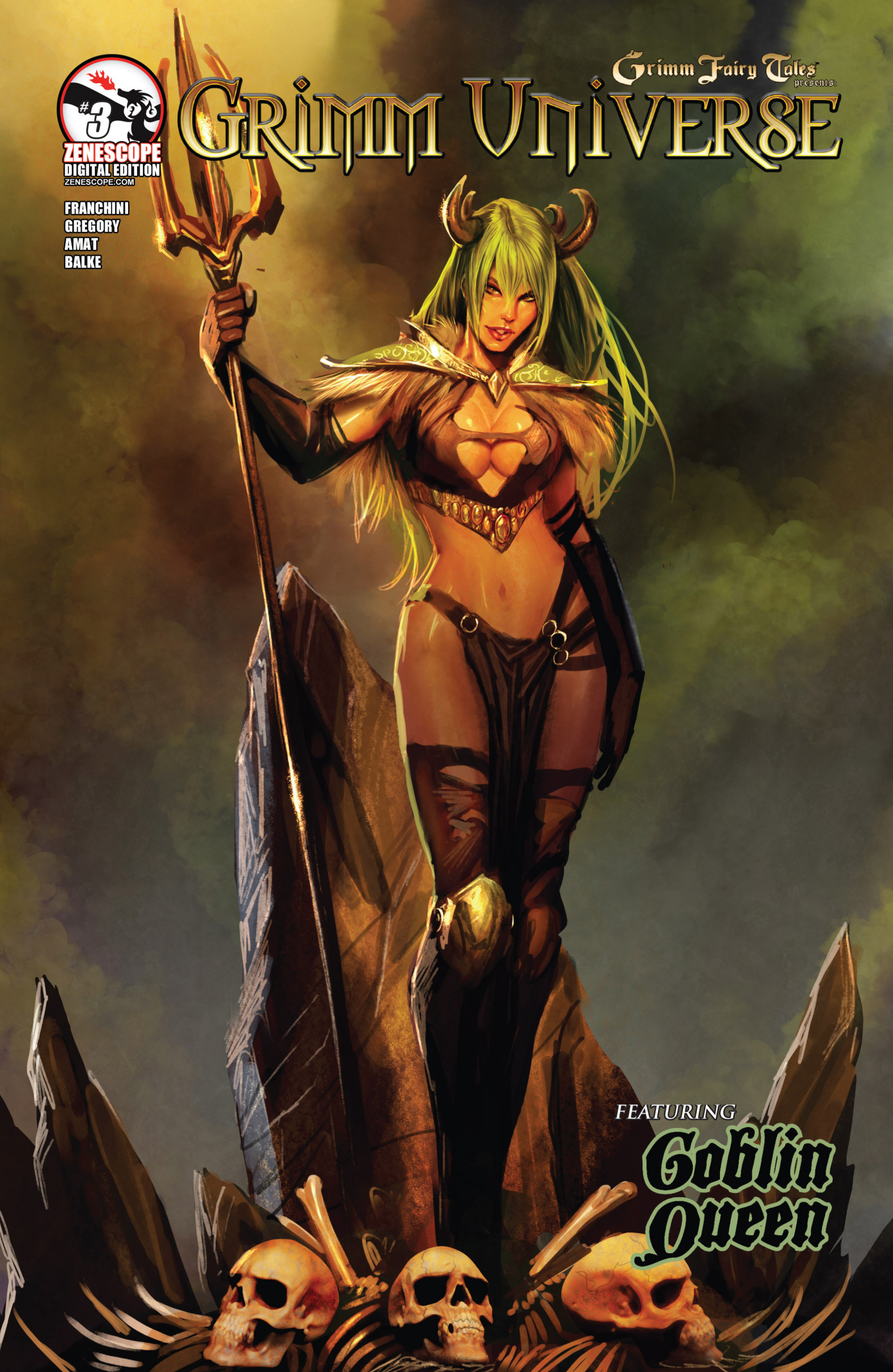 Read online Grimm Fairy Tales presents Grimm Universe comic -  Issue # TPB - 99