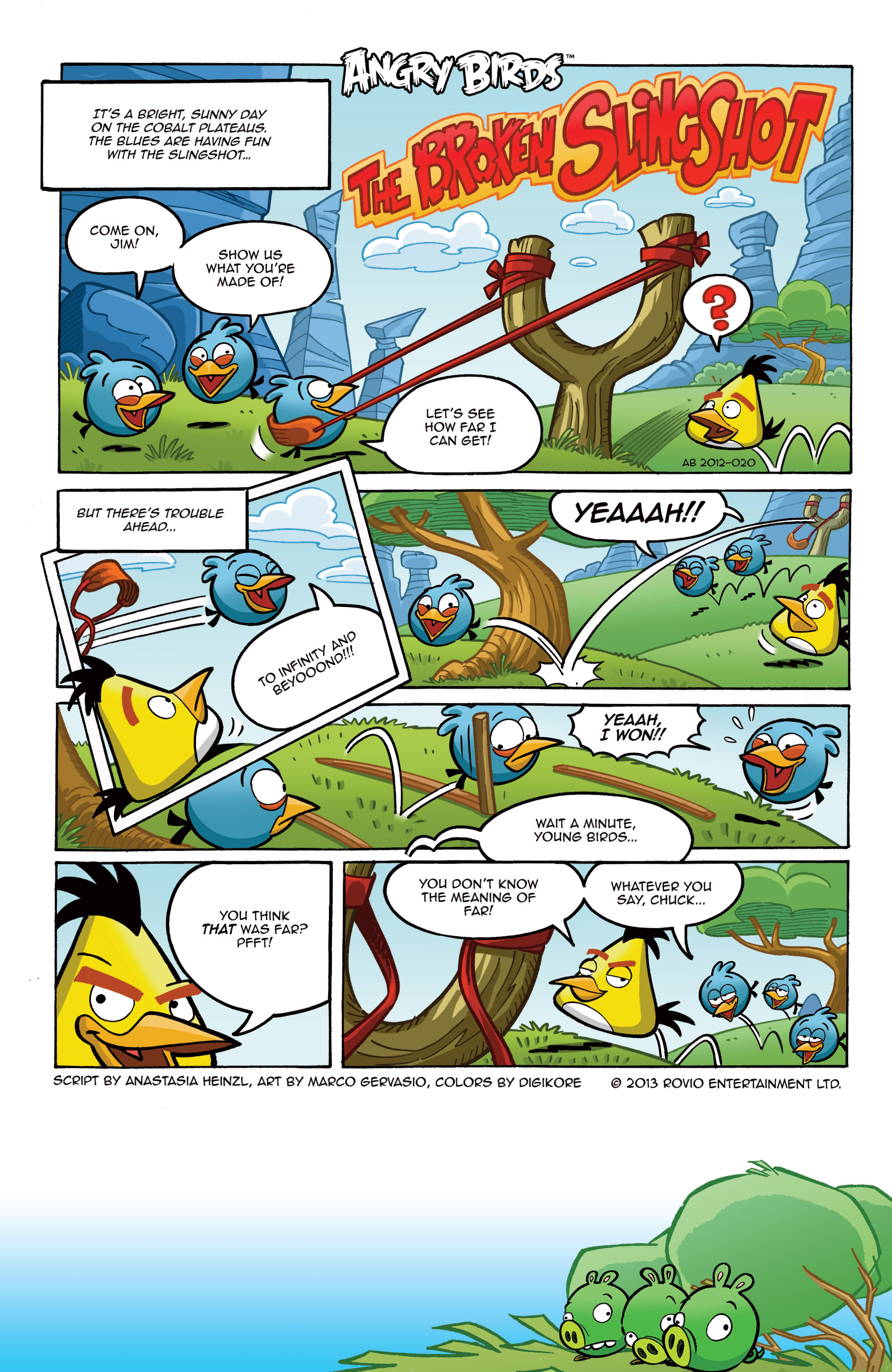 Read online Angry Birds Comics (2014) comic -  Issue #8 - 3