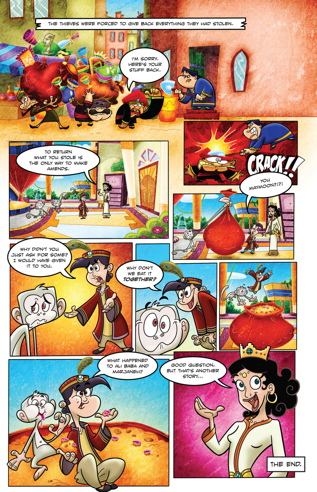 Read online 1001 Nights comic -  Issue #4 - 24