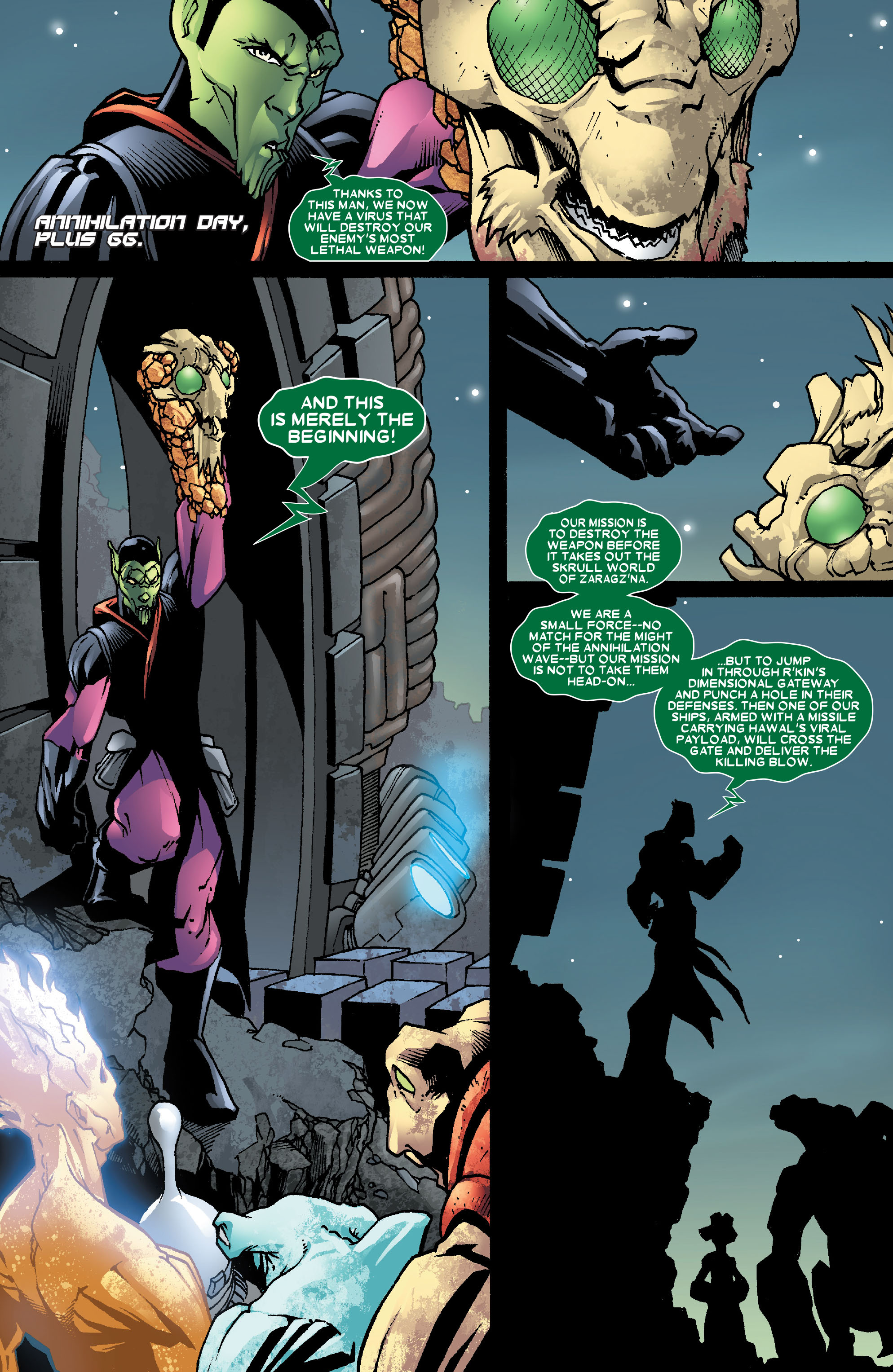 Read online Annihilation: Super-Skrull comic -  Issue #3 - 12