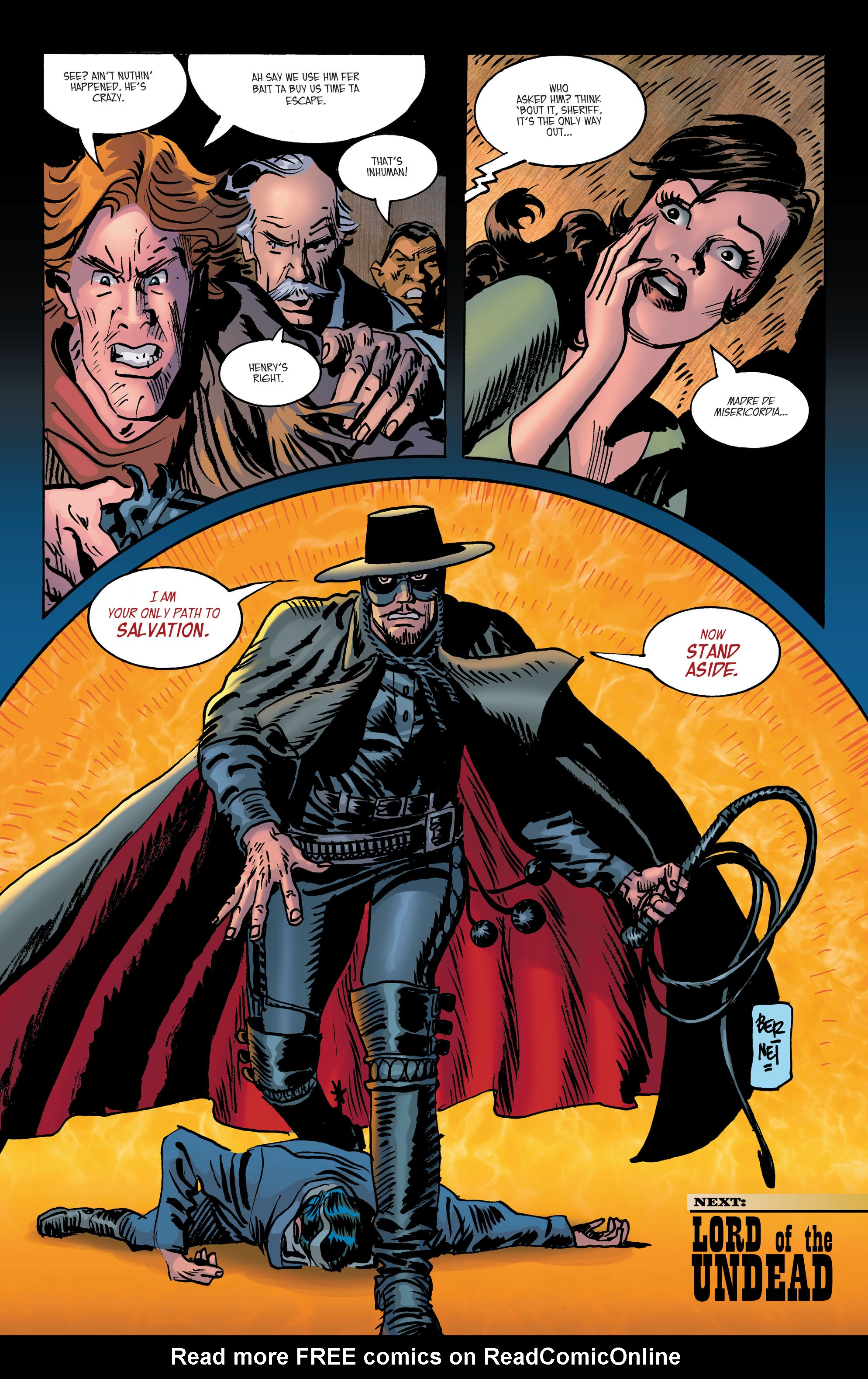Read online All-Star Western (2011) comic -  Issue #2 - 28